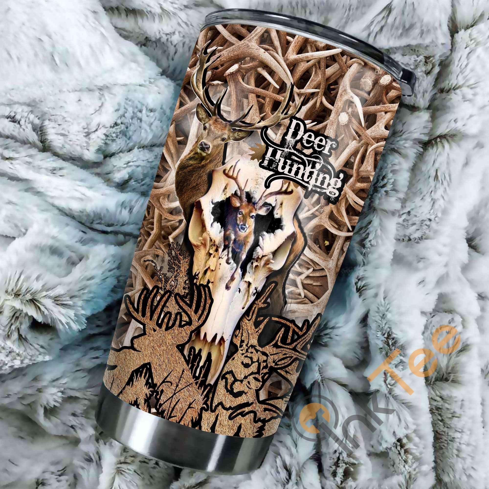 Deer Hunting Amazon Best Seller Sku 3802 Stainless Steel Tumbler