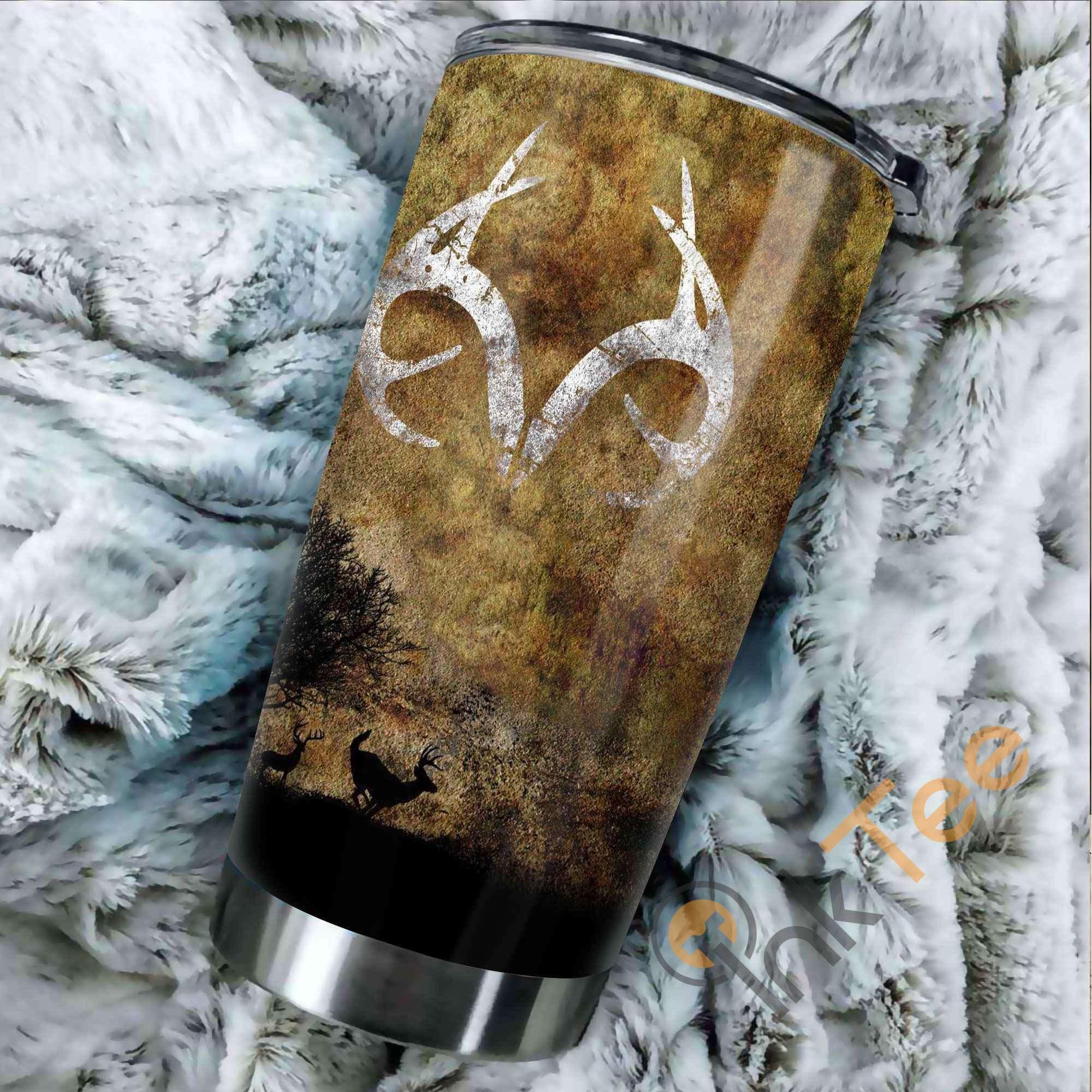 Deer Hunting Amazon Best Seller Sku 3807 Stainless Steel Tumbler