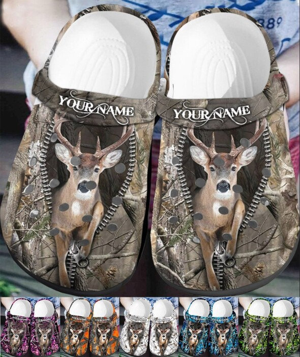 Deer Hunting Collection Crocs Clog Shoes