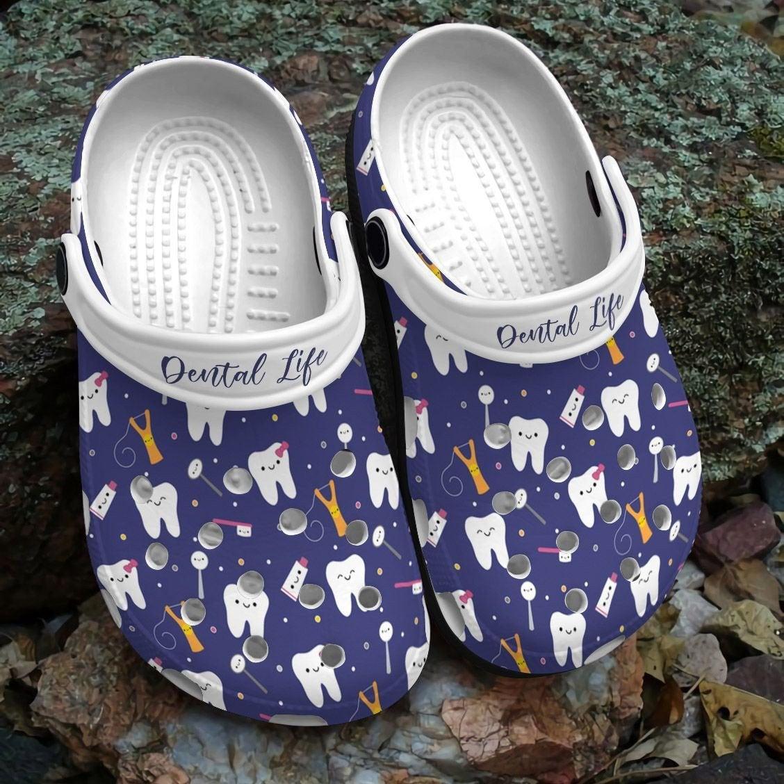 Dentist Dental Life Crocs Clog Shoes