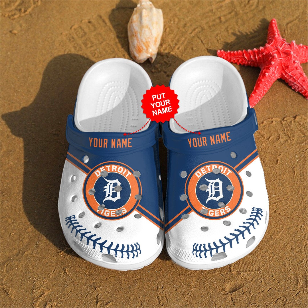 Detroit Tigers Personalized For Mlb Fans Crocs Clog Shoes
