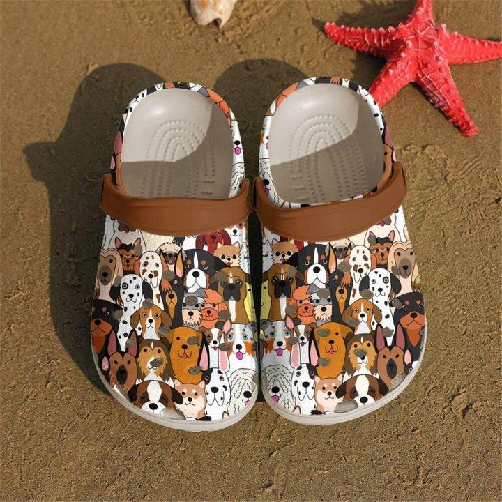 Dog Doodles Crocs Clog Shoes