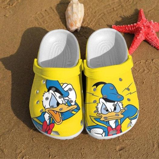 Donald Duck Crocs Clog Shoes