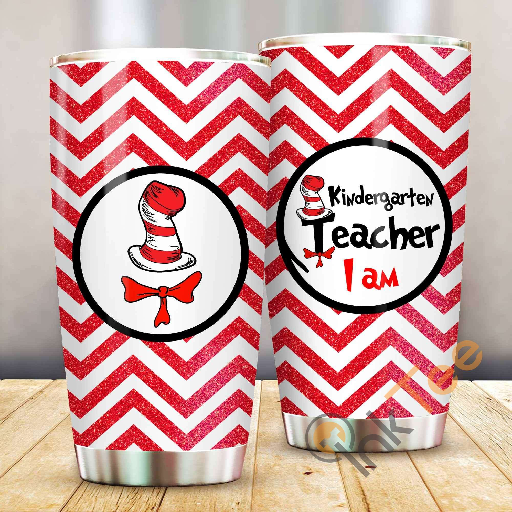 Dr Seuss Im Kindergarten Teacher Amazon Best Seller Sku 3899 Stainless Steel Tumbler