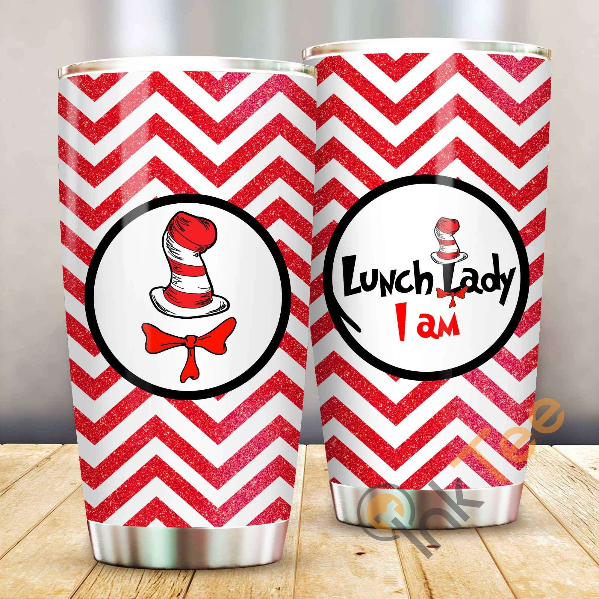 Dr Seuss Im Lunch Lady Amazon Best Seller Sku 4032 Stainless Steel Tumbler