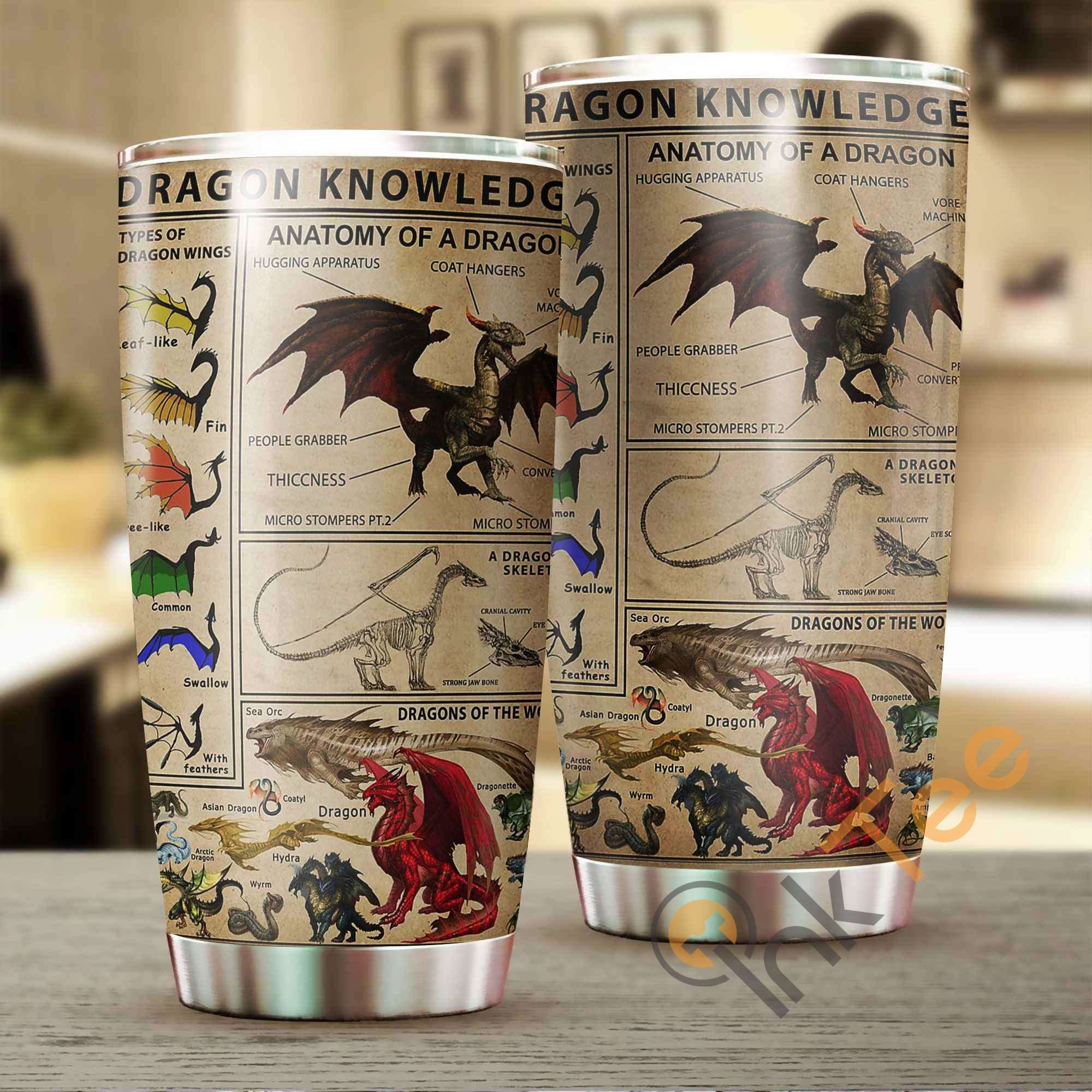 Dragon Knowledge Amazon Best Seller Sku 2985 Stainless Steel Tumbler