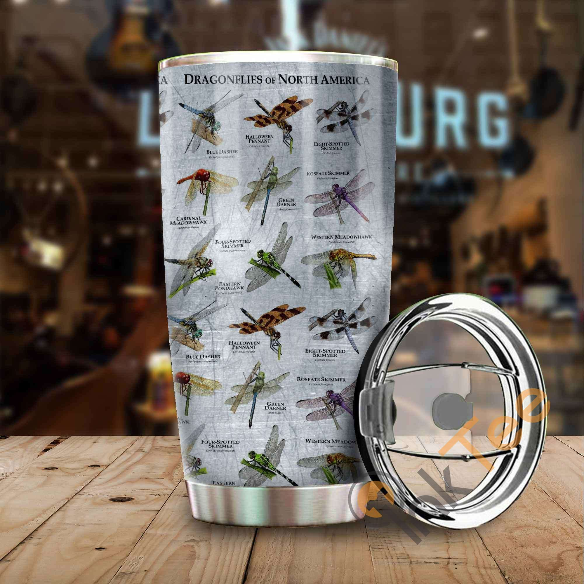 Dragonflies Of North America Stainless Steel Tumbler
