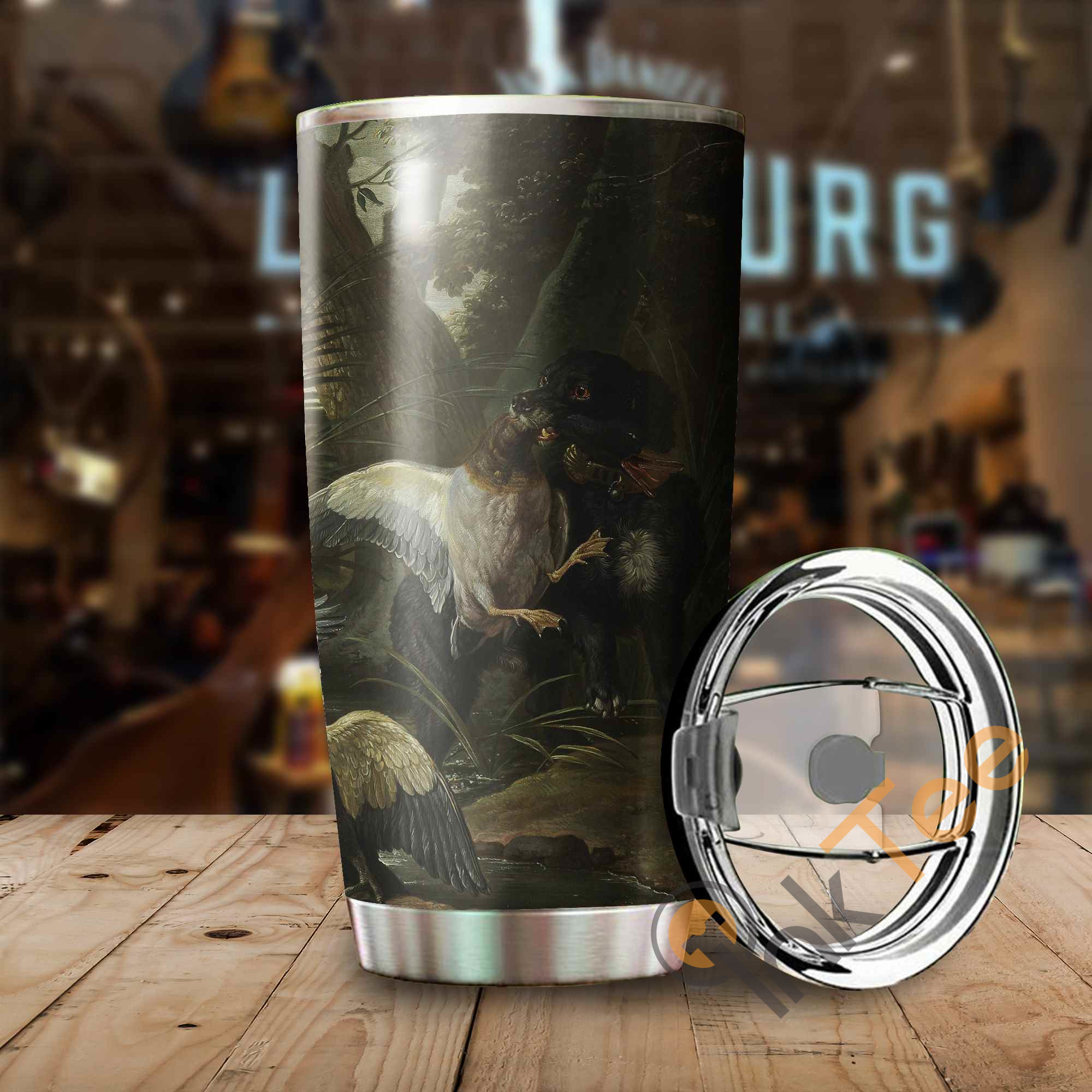 Duck Hunting Amazon Best Seller Sku 3636 Stainless Steel Tumbler