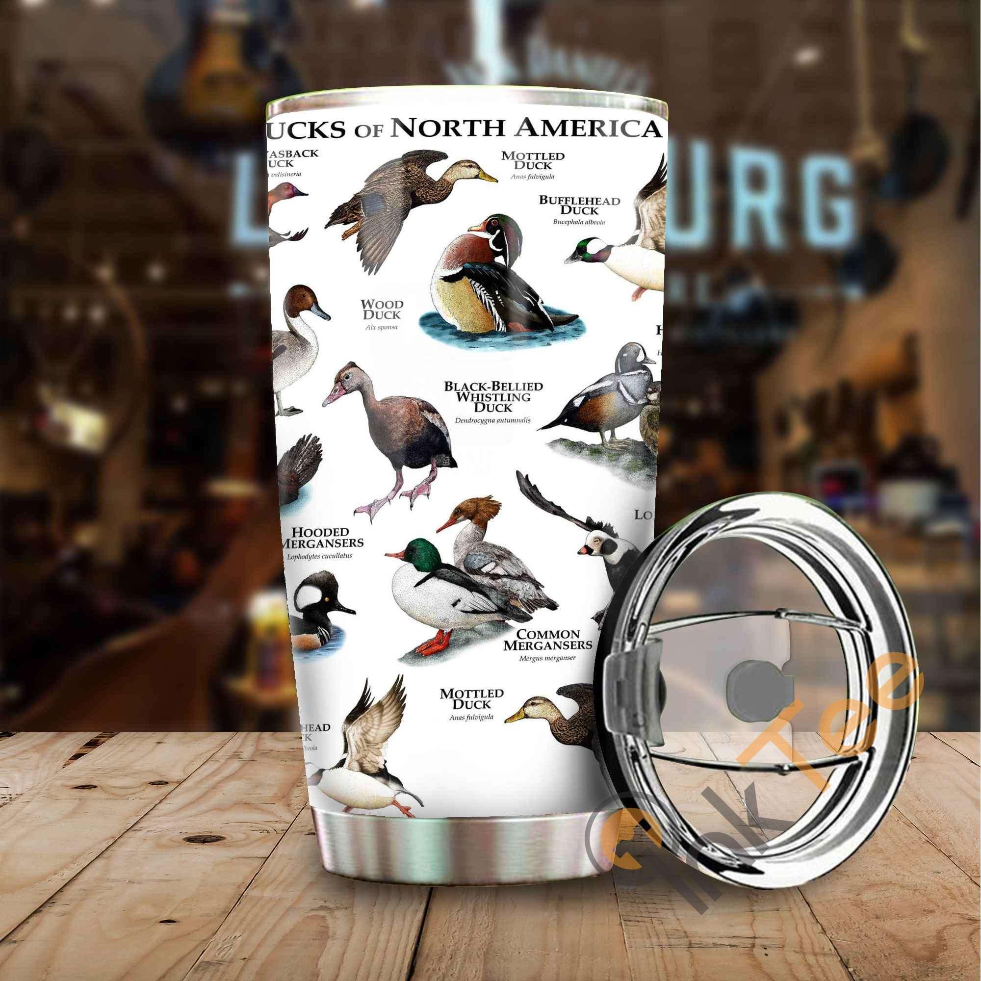 Duck Hunting Amazon Best Seller Sku 3657 Stainless Steel Tumbler