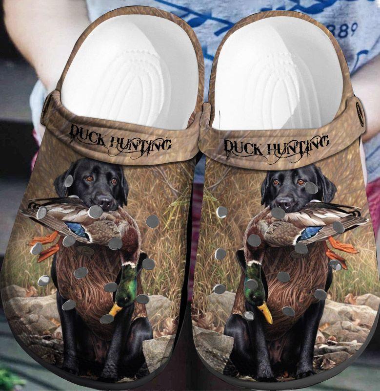 Duck Hunting Crocs Clog Shoes