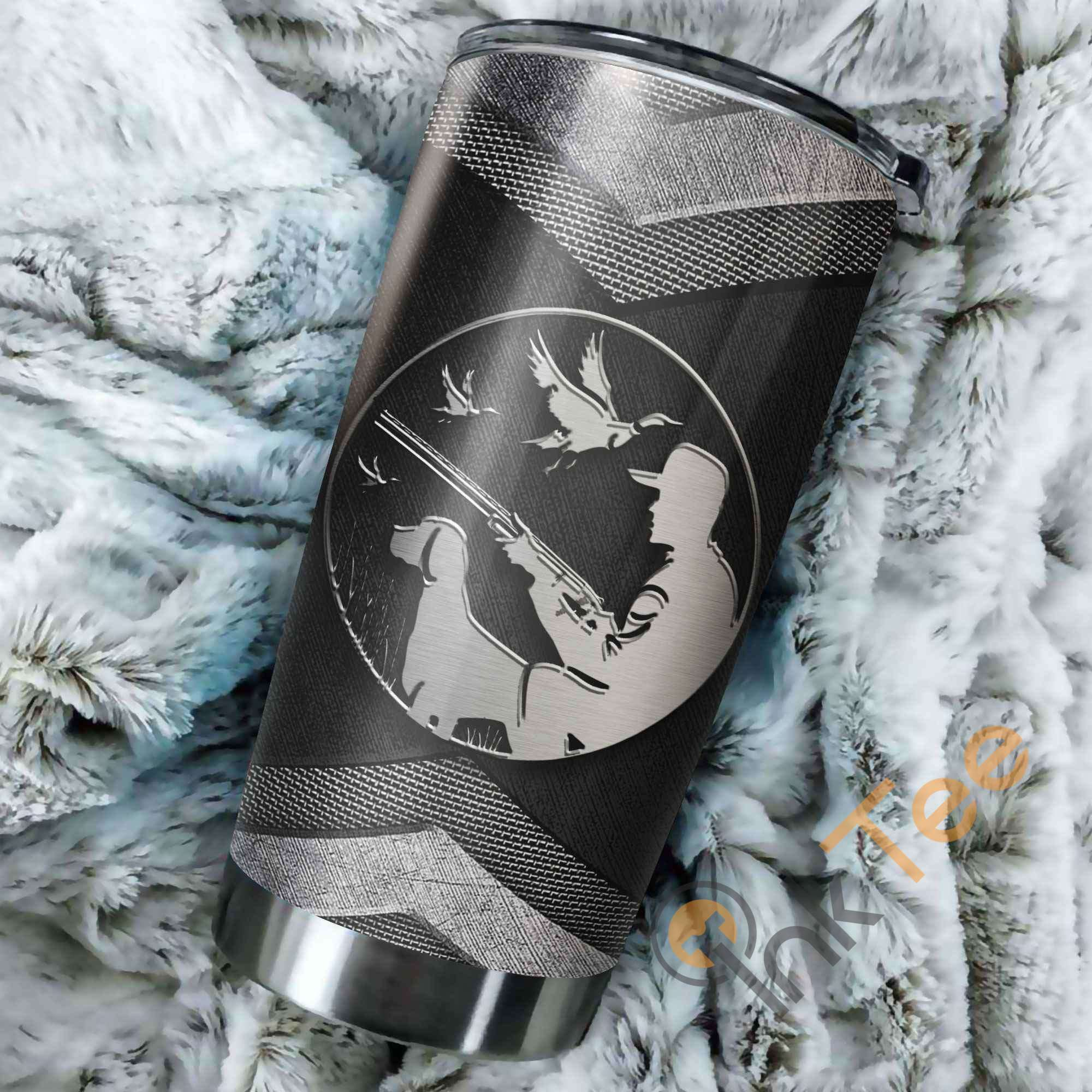 Duck Hunting Metal Amazon Best Seller Sku 3073 Stainless Steel Tumbler