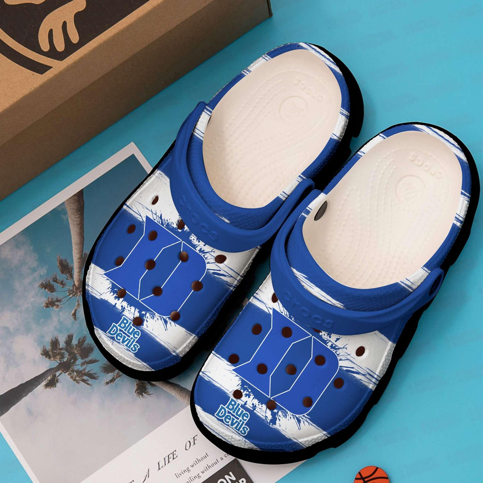 Duke Blue Devils Crocs Clog Shoes