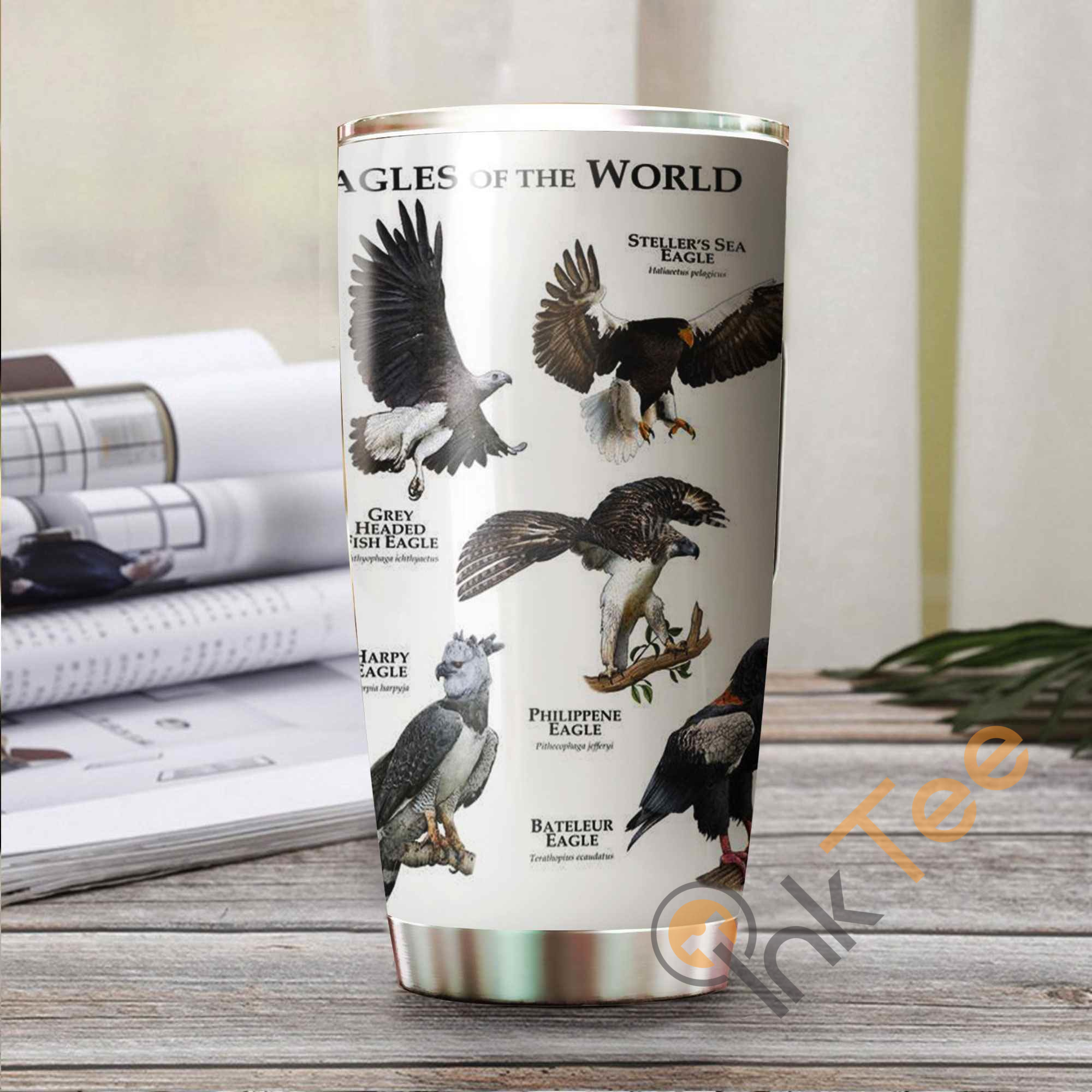 Eagles Of The World Stainless Steel Tumbler