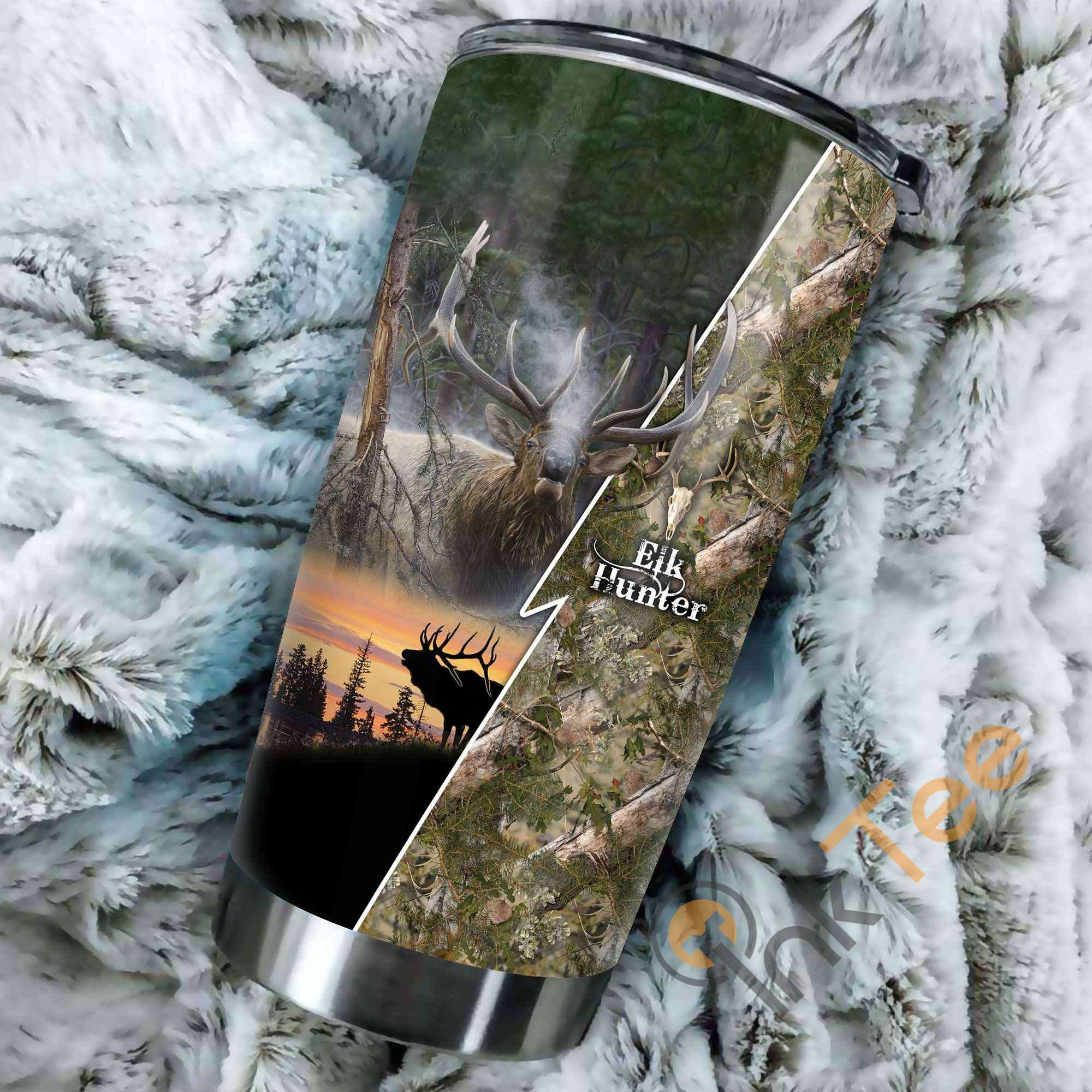 Elk Hunting Amazon Best Seller Sku 2900 Stainless Steel Tumbler