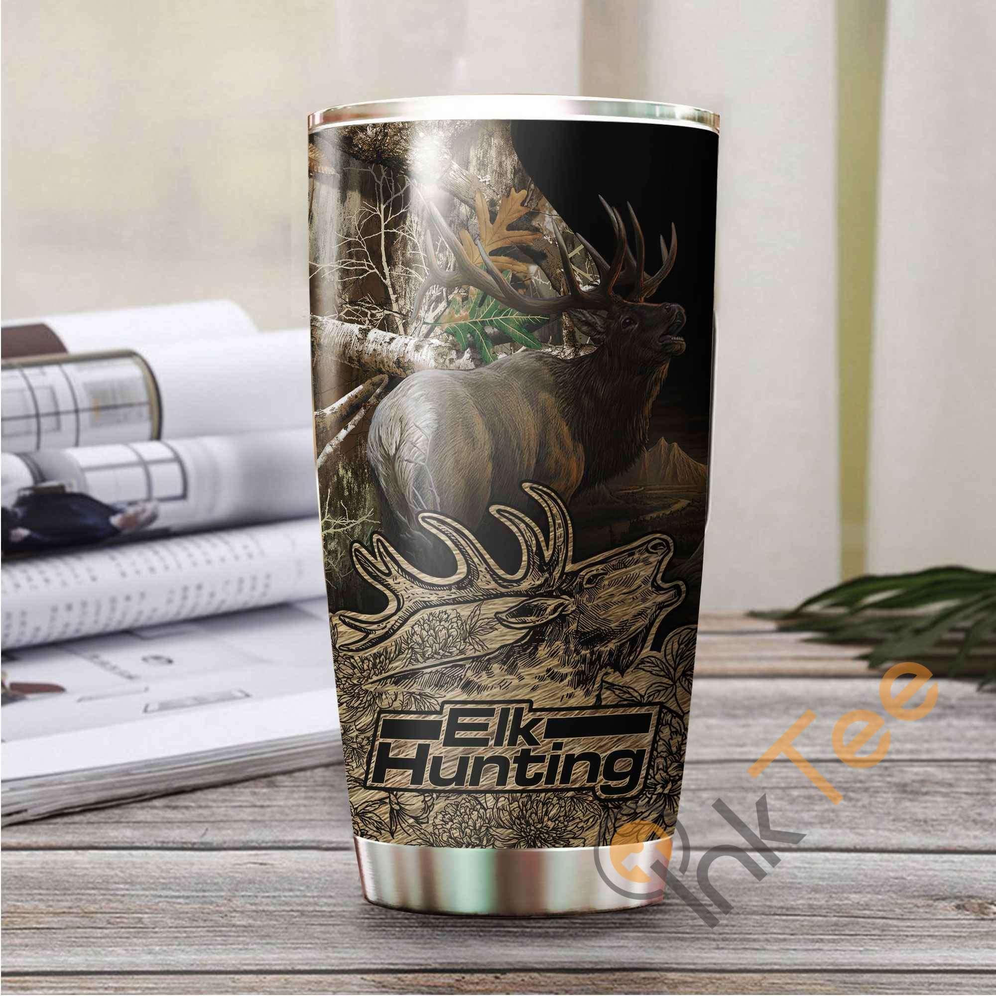 Elk Hunting Amazon Best Seller Sku 2953 Stainless Steel Tumbler