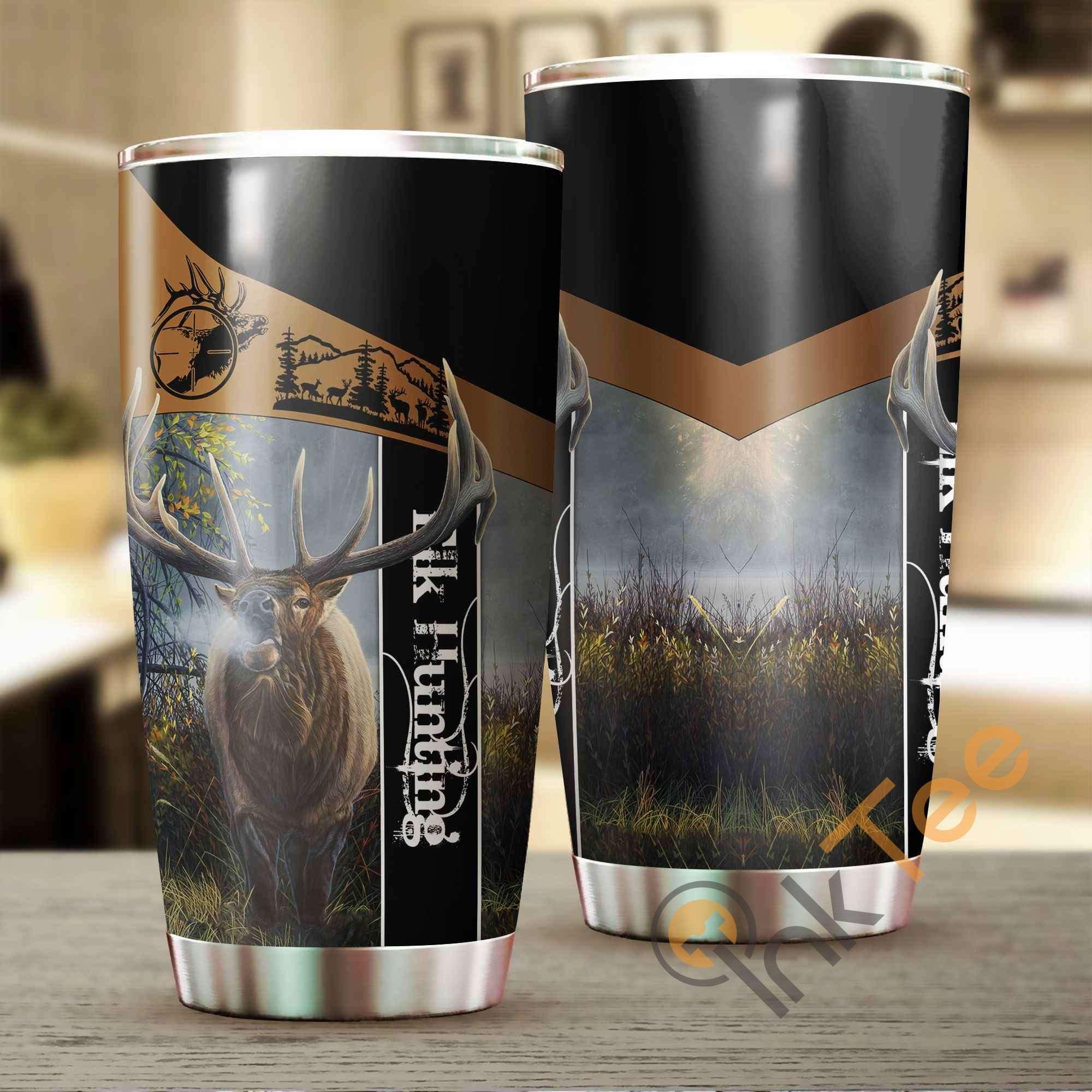 Elk Hunting Amazon Best Seller Sku 3692 Stainless Steel Tumbler