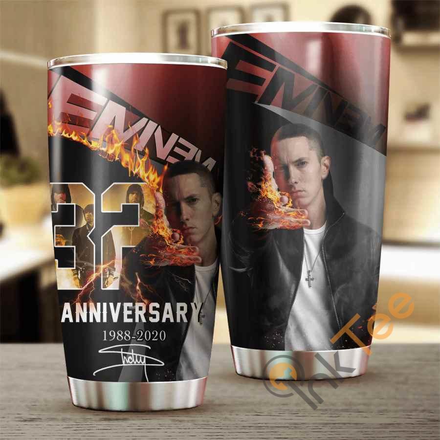 Eminem 32 Years Anniversary Cup Amazon Best Seller Sku 3922 Stainless Steel Tumbler