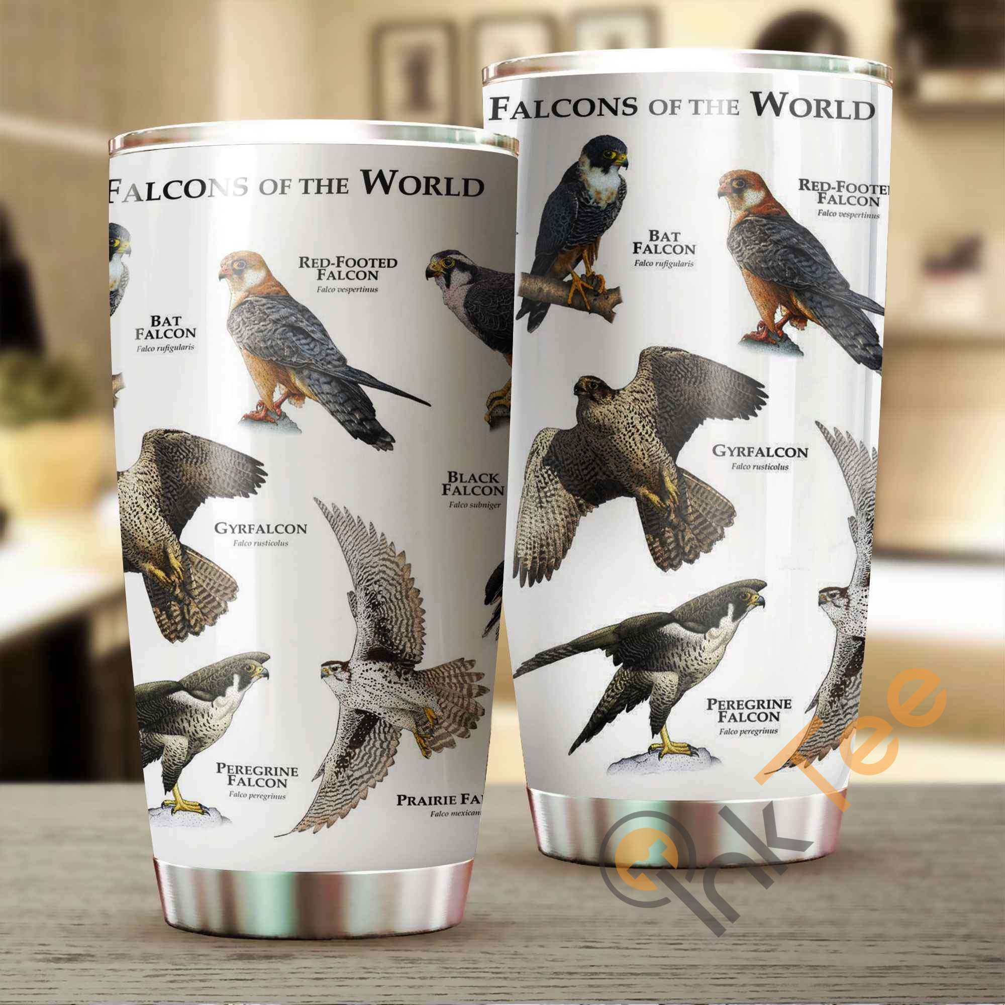 Falcons Of The World Stainless Steel Tumbler