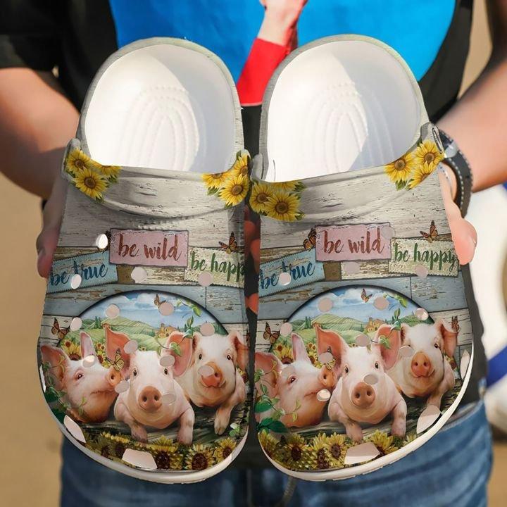 Farmer Be Happy Crocs Clog Shoes