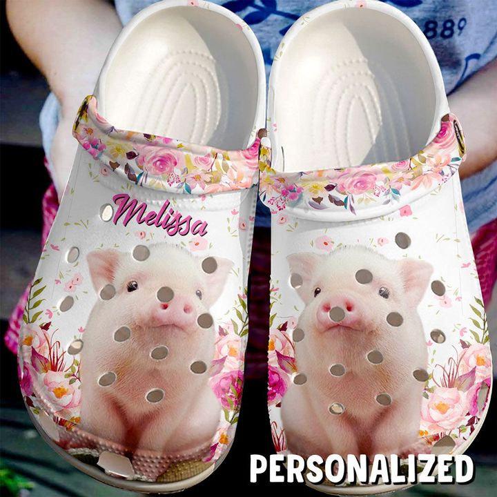 Farmer Personalized Cute Pig Crocs Clog Shoes