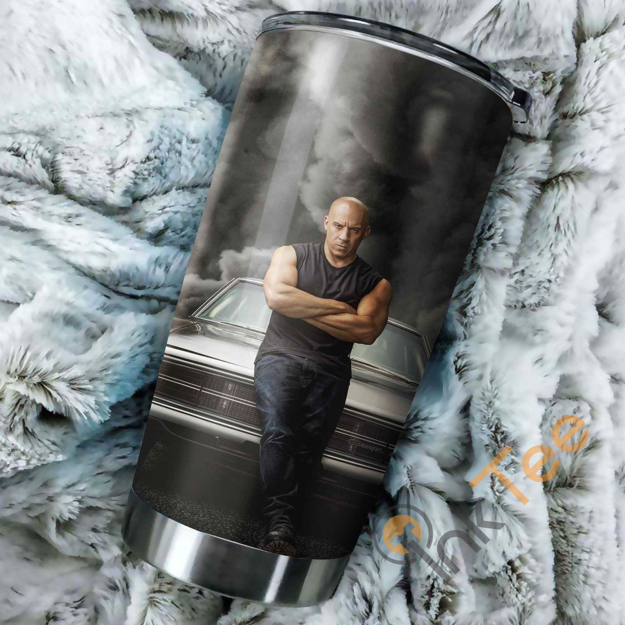 Fast Furious 9 Characters Dominic Perfect Gift Stainless Steel Tumbler