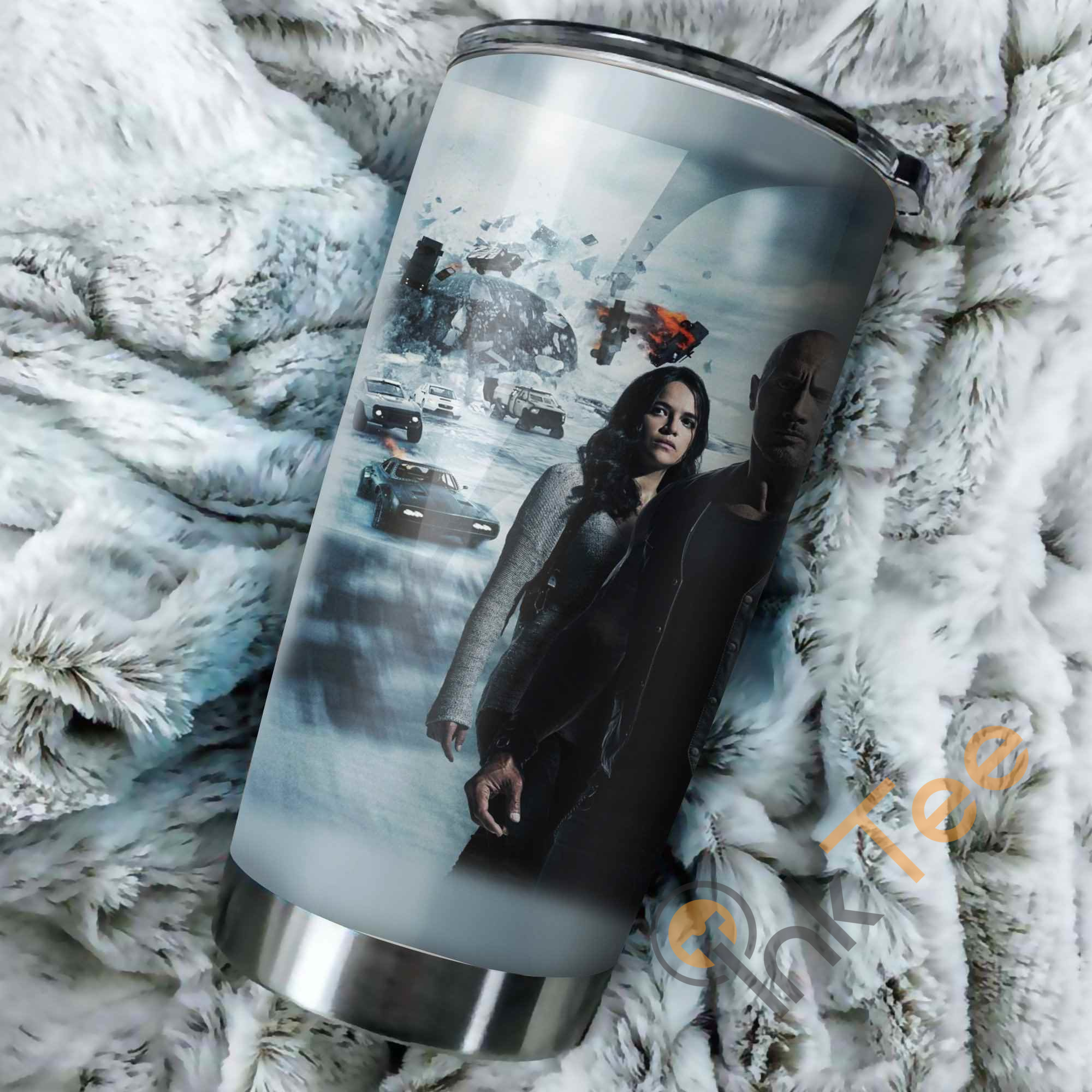 Fast Furious 9 Poster Perfect Gift Stainless Steel Tumbler
