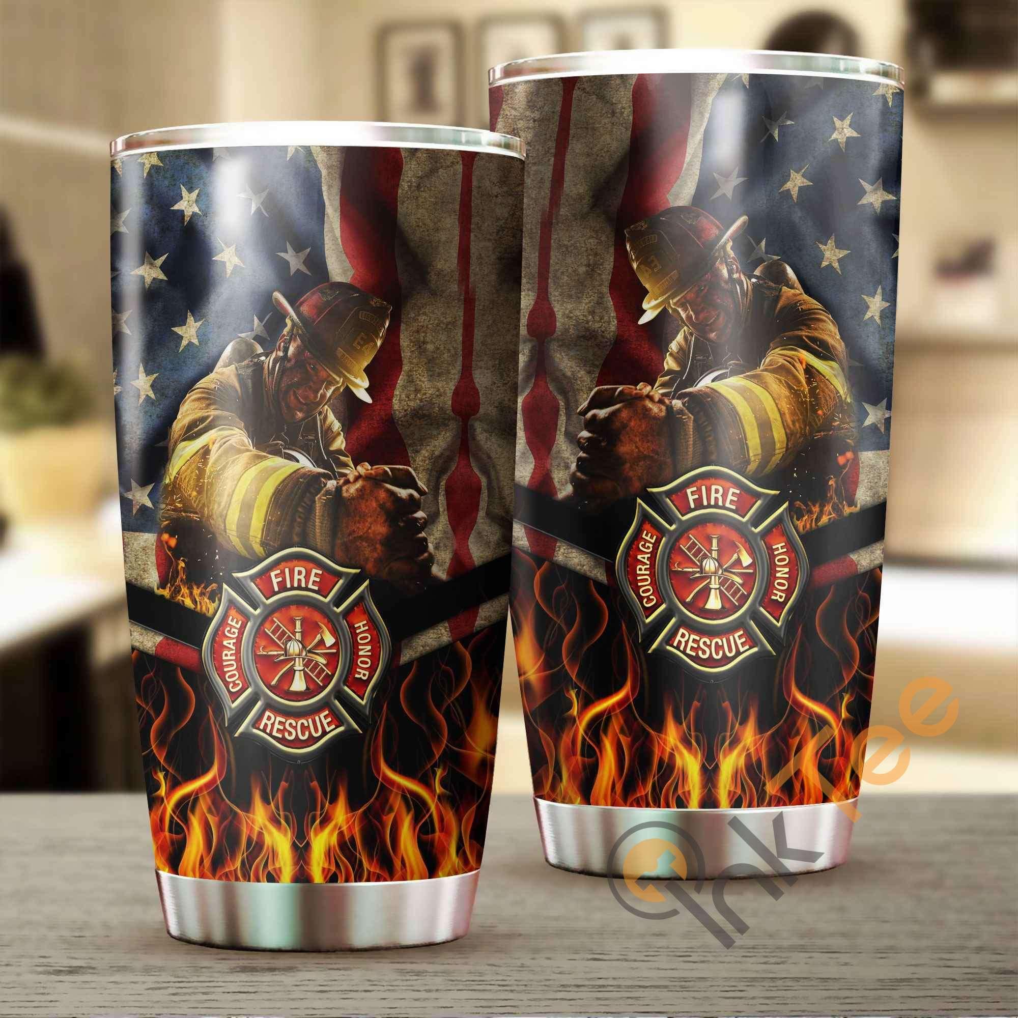 Firefighter Amazon Best Seller Sku 2610 Stainless Steel Tumbler