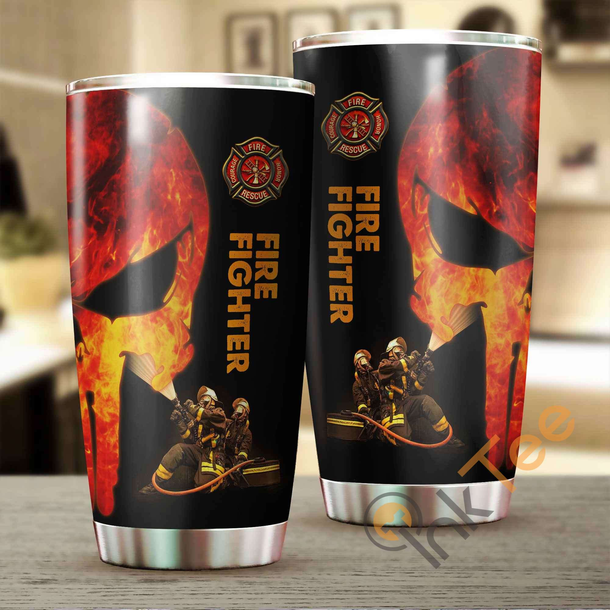 Firefighter Amazon Best Seller Sku 3271 Stainless Steel Tumbler