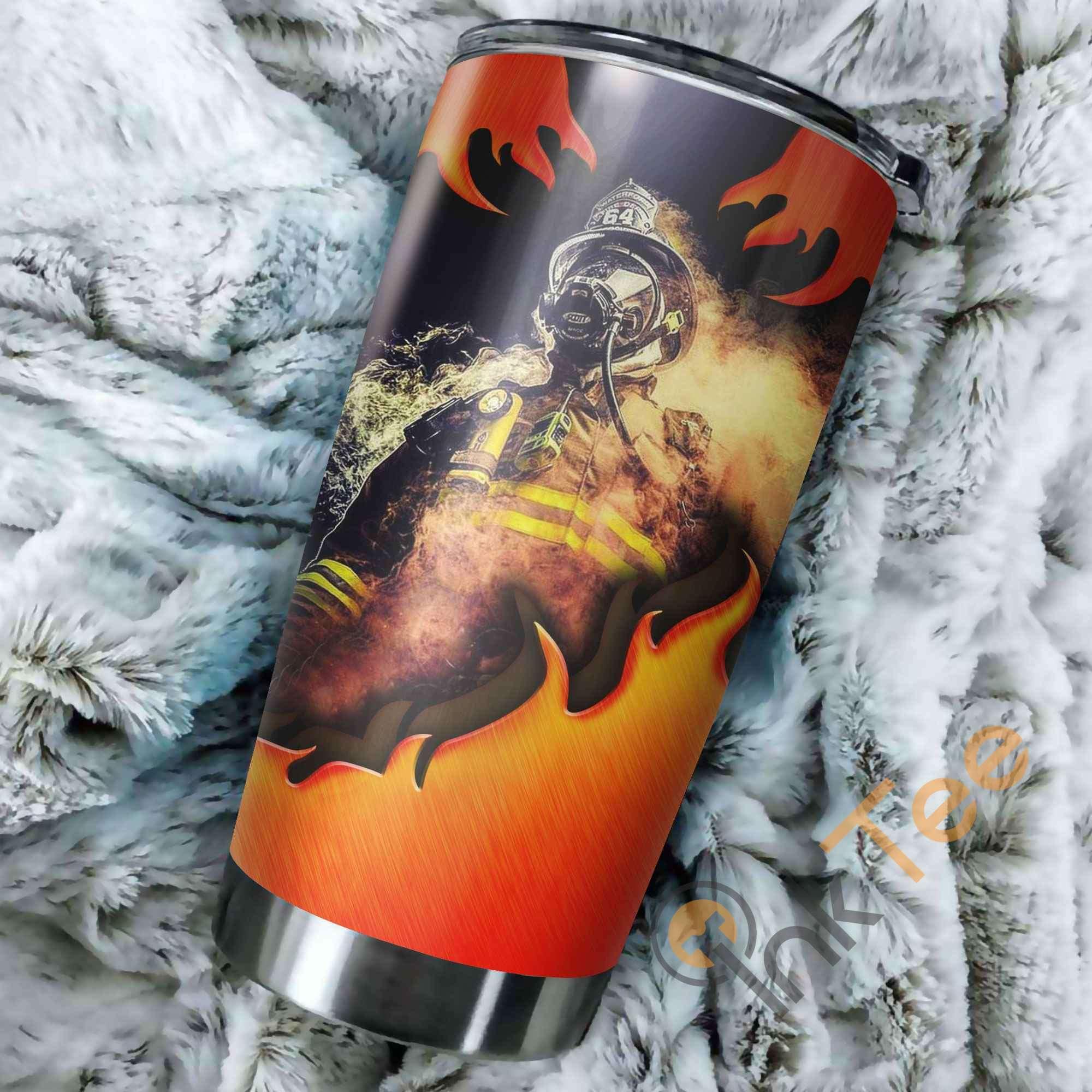 Firefighter Amazon Best Seller Sku 3319 Stainless Steel Tumbler