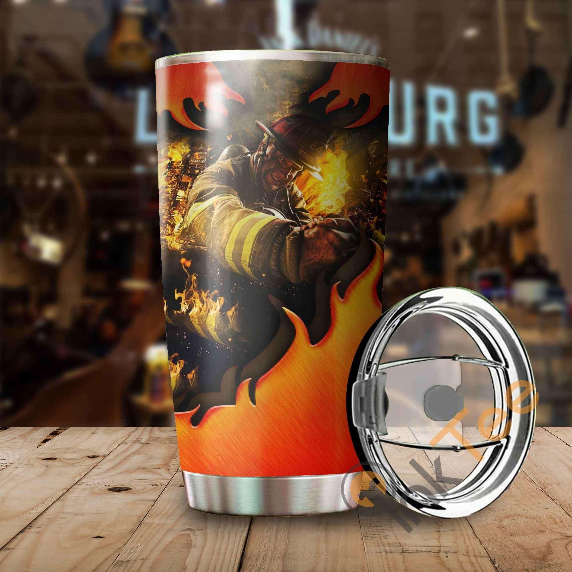 Firefighter Amazon Best Seller Sku 3346 Stainless Steel Tumbler