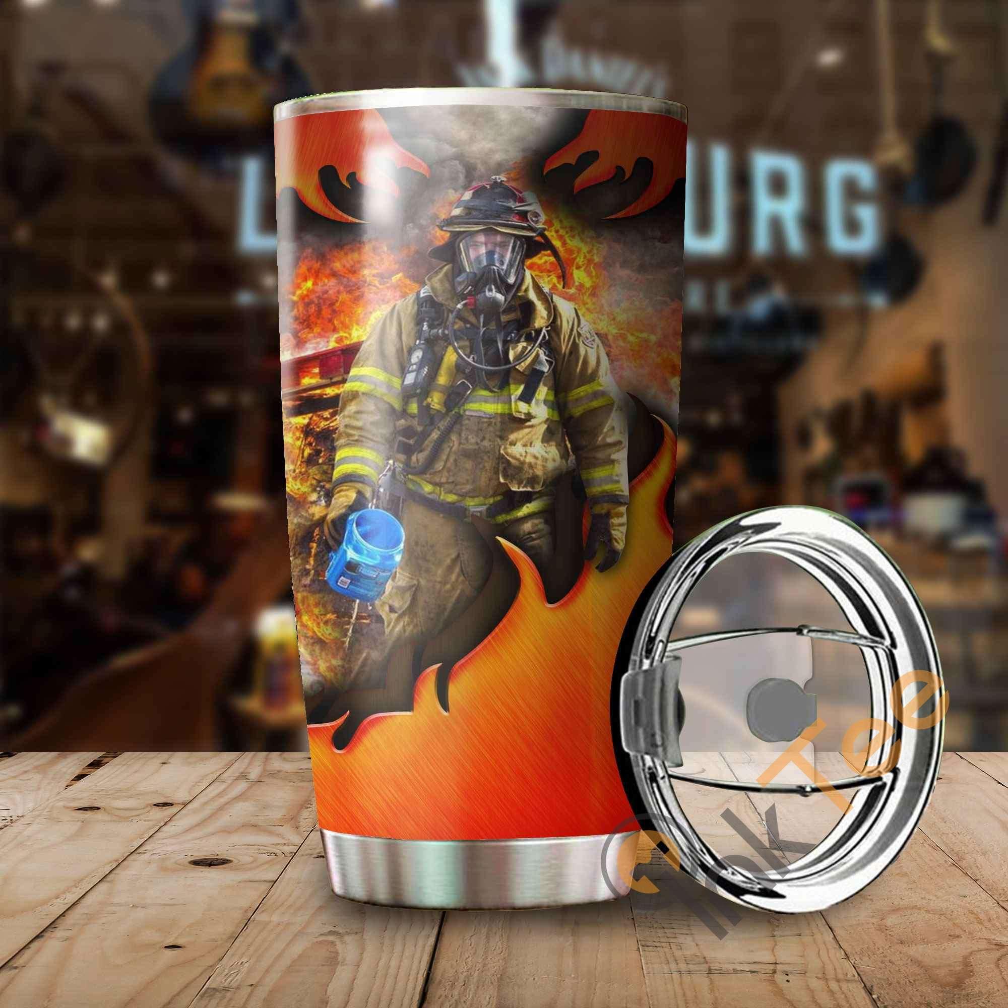 Firefighter Amazon Best Seller Sku 3557 Stainless Steel Tumbler