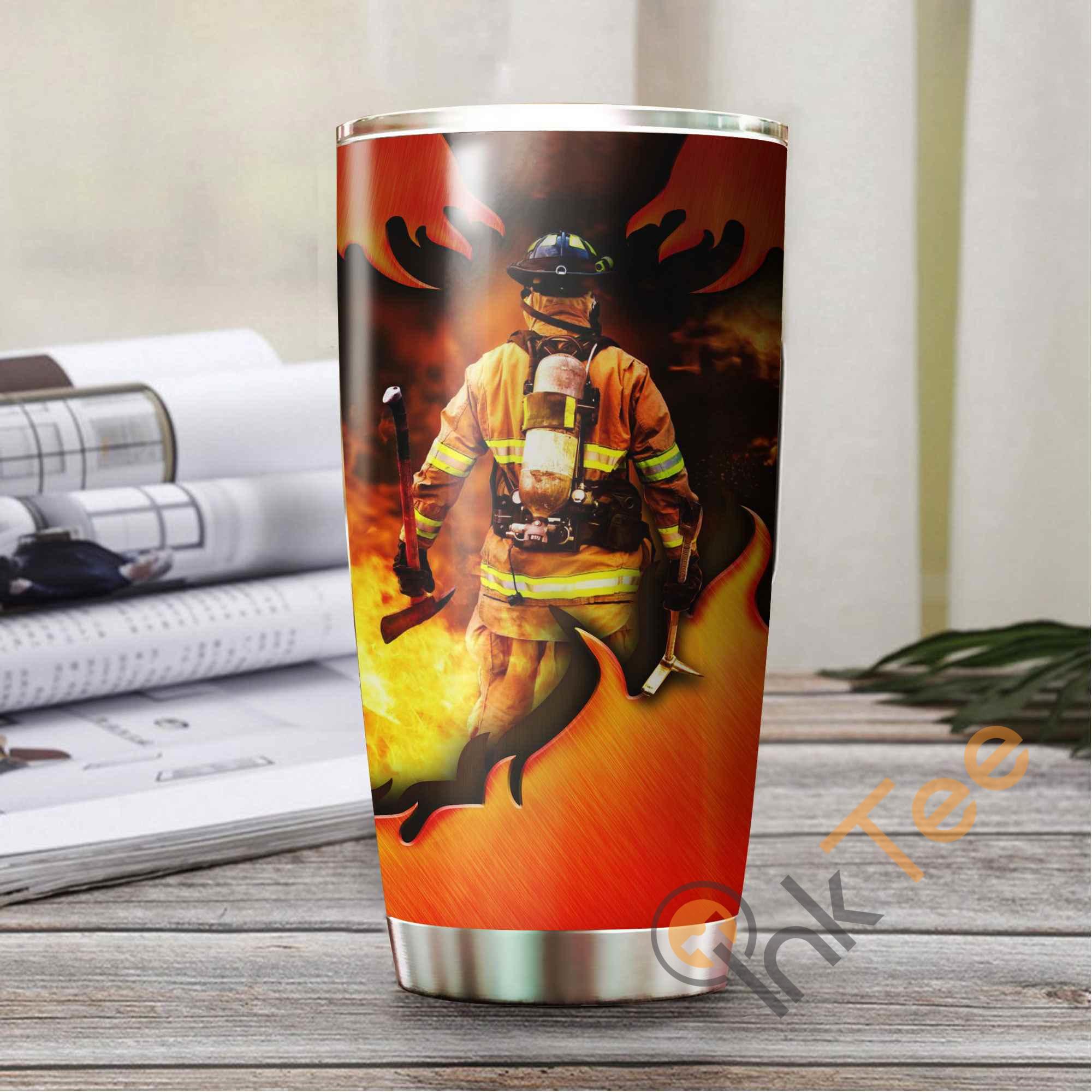 Firefighter Amazon Best Seller Sku 3810 Stainless Steel Tumbler