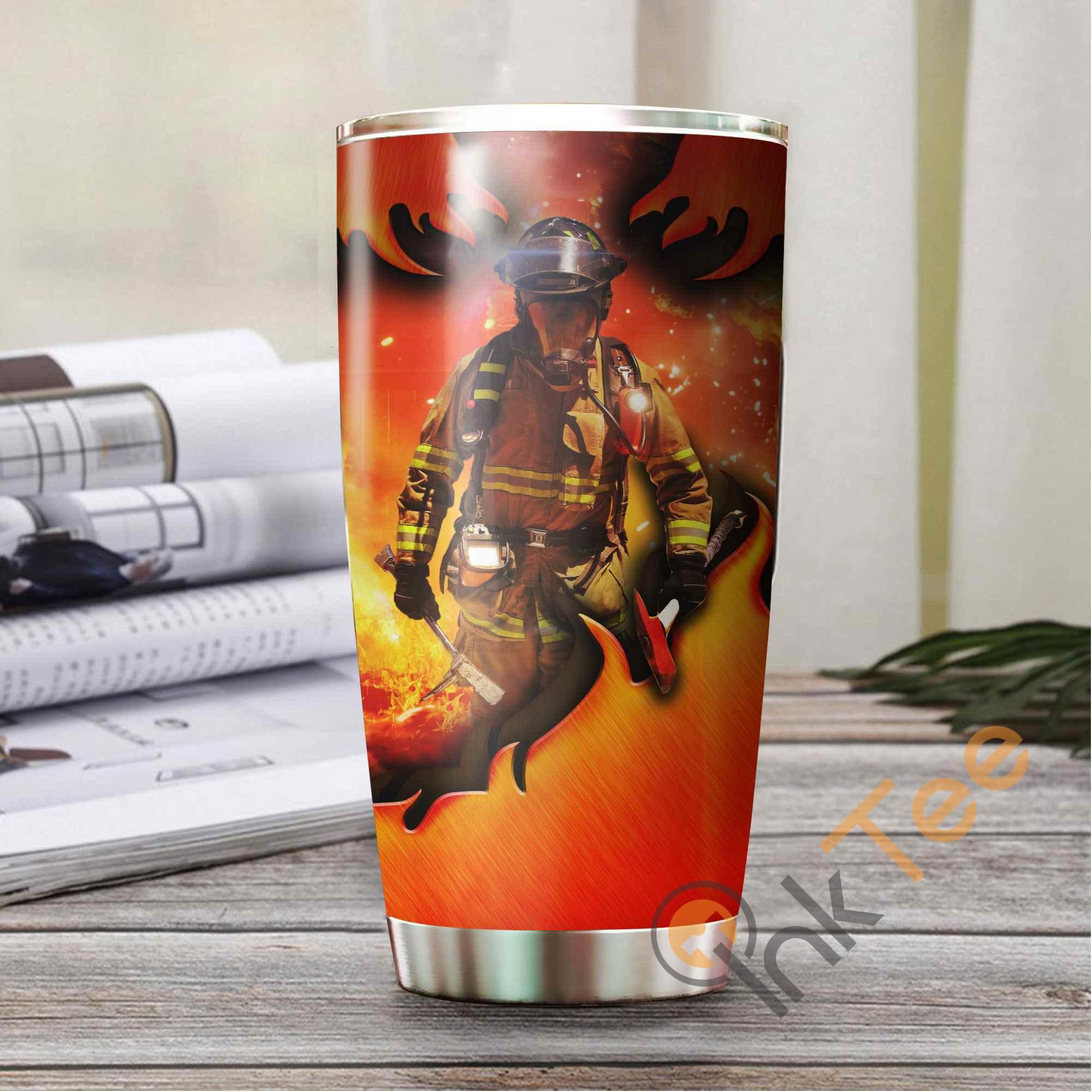 Firefighter Amazon Best Seller Sku 3811 Stainless Steel Tumbler