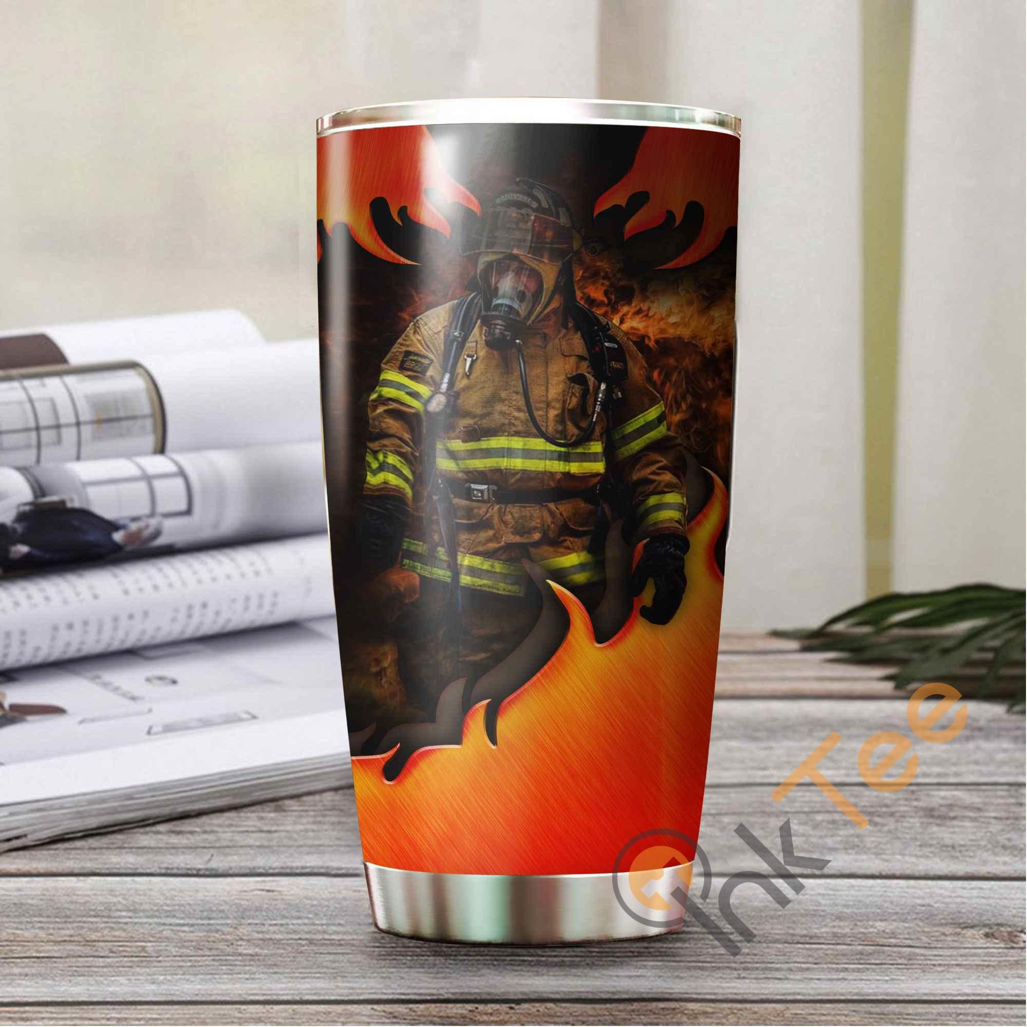 Firefighter Amazon Best Seller Sku 3838 Stainless Steel Tumbler
