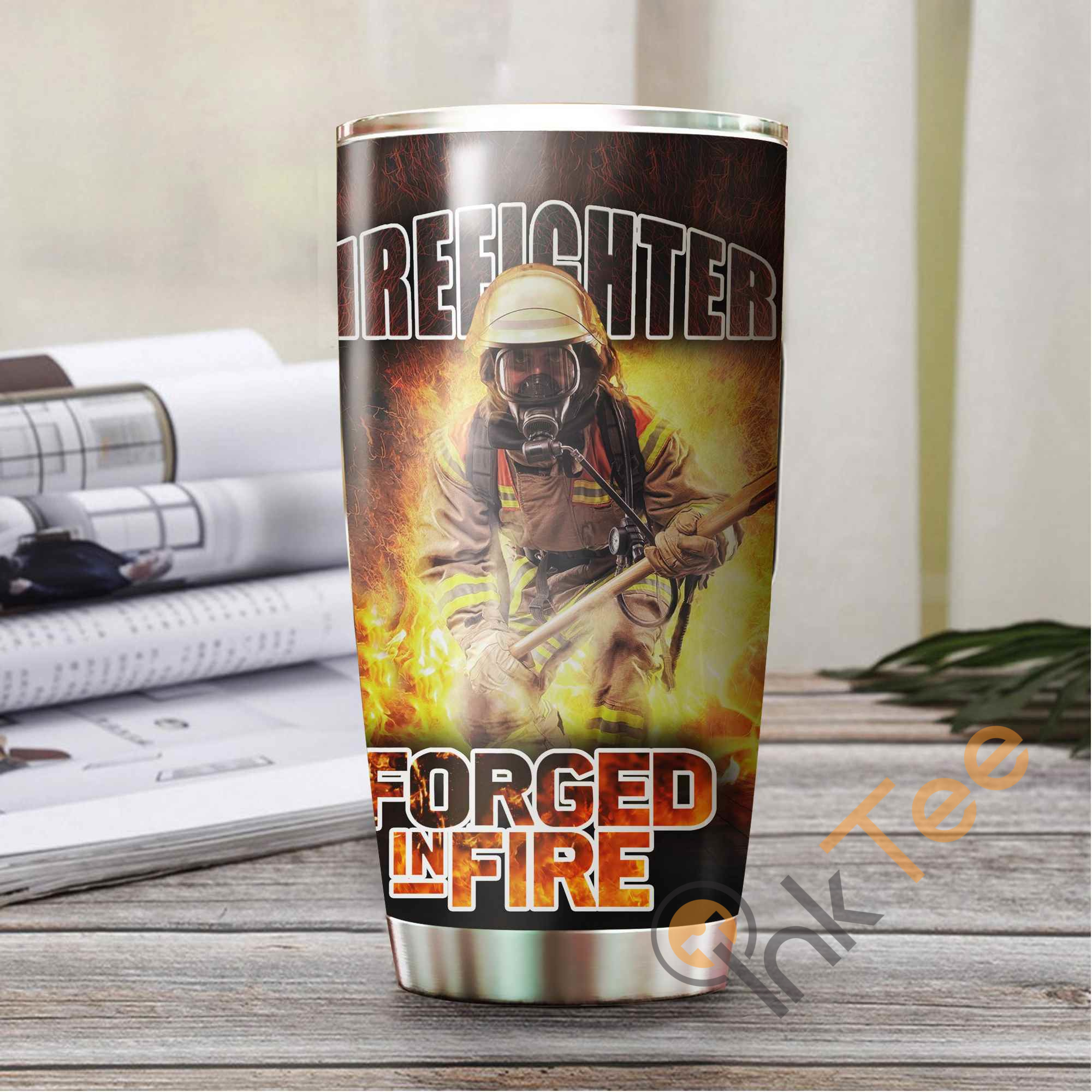 Firefighter Forged In Fire Amazon Best Seller Sku 2898 Stainless Steel Tumbler