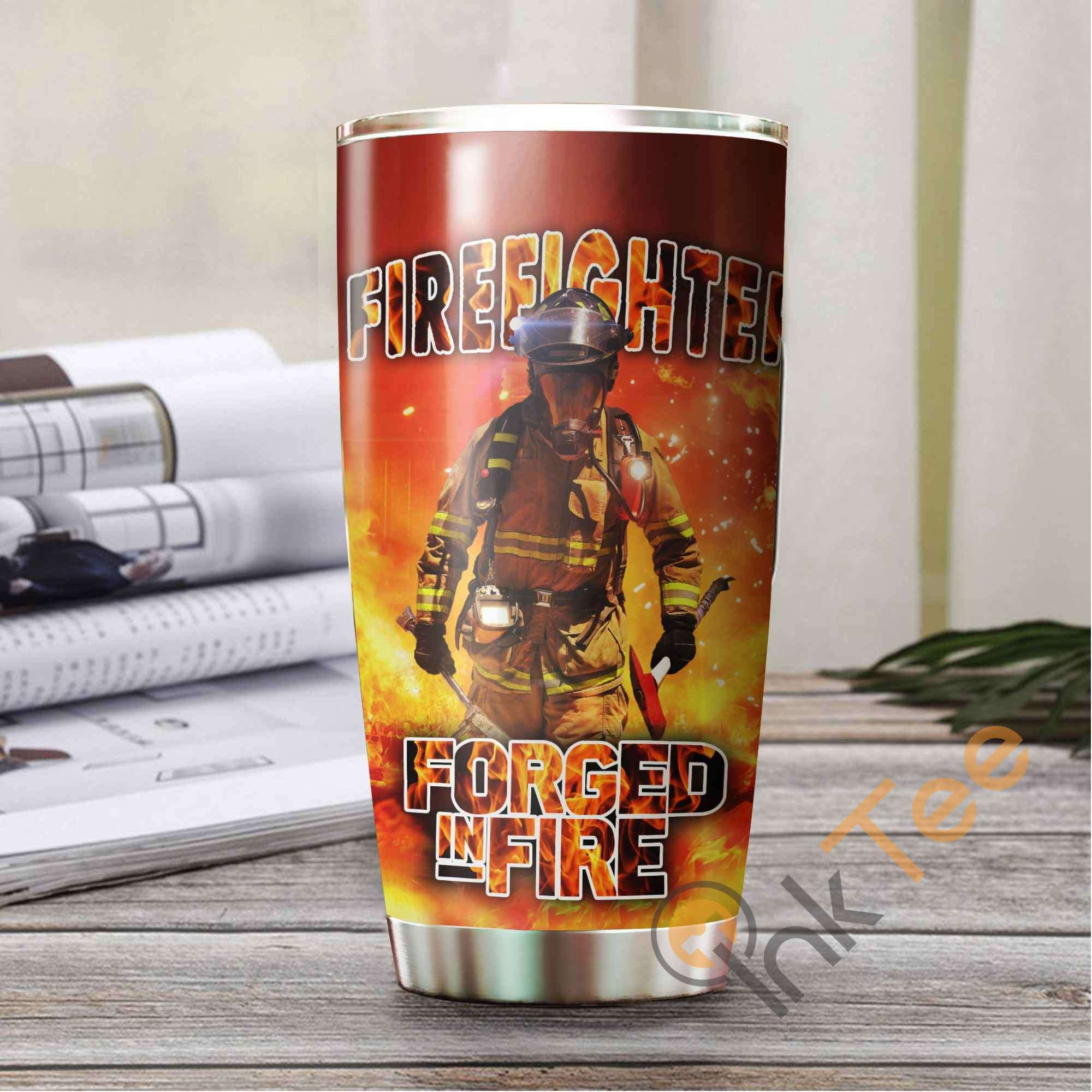 Firefighter Forged In Fire Amazon Best Seller Sku 2962 Stainless Steel Tumbler