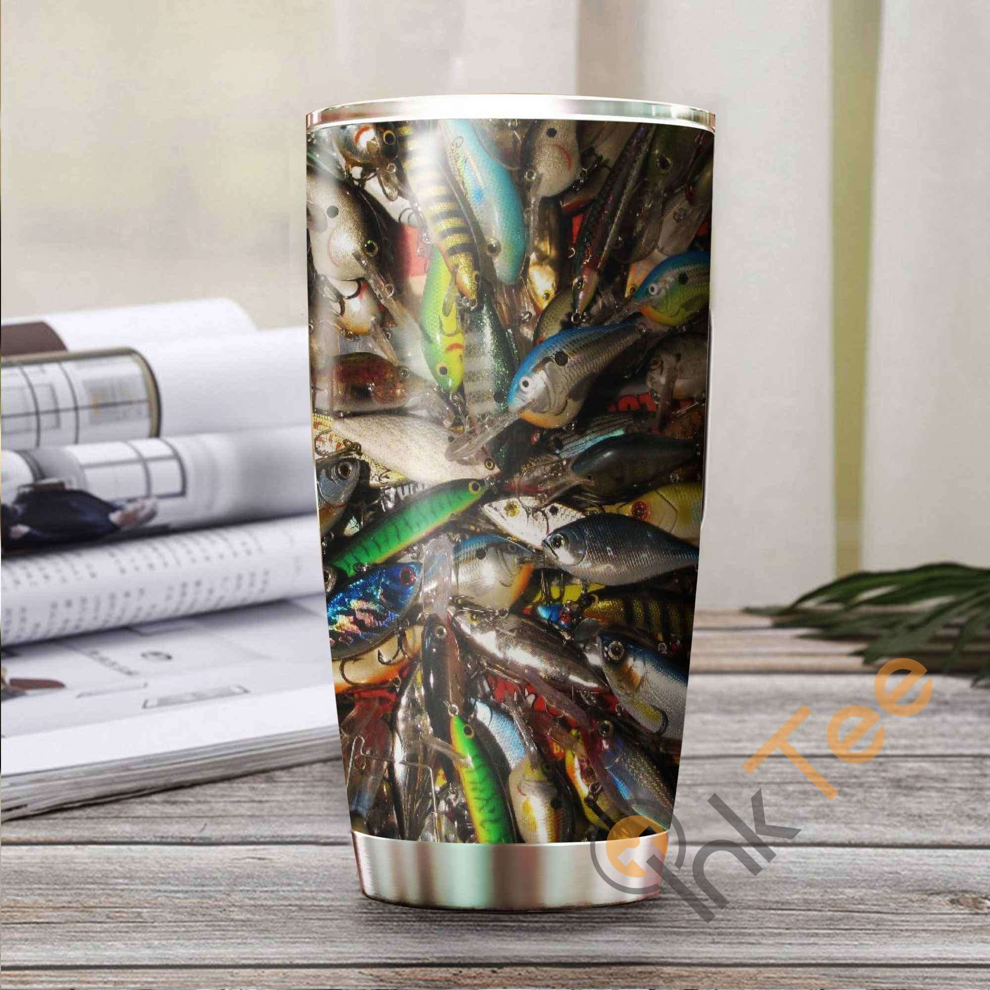 Fishing Bait Amazon Best Seller Sku 3825 Stainless Steel Tumbler