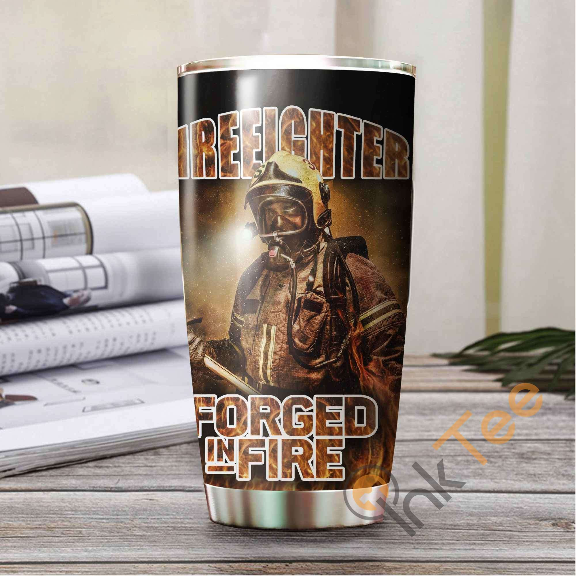 Forged In Fire Stainless Steel Tumbler