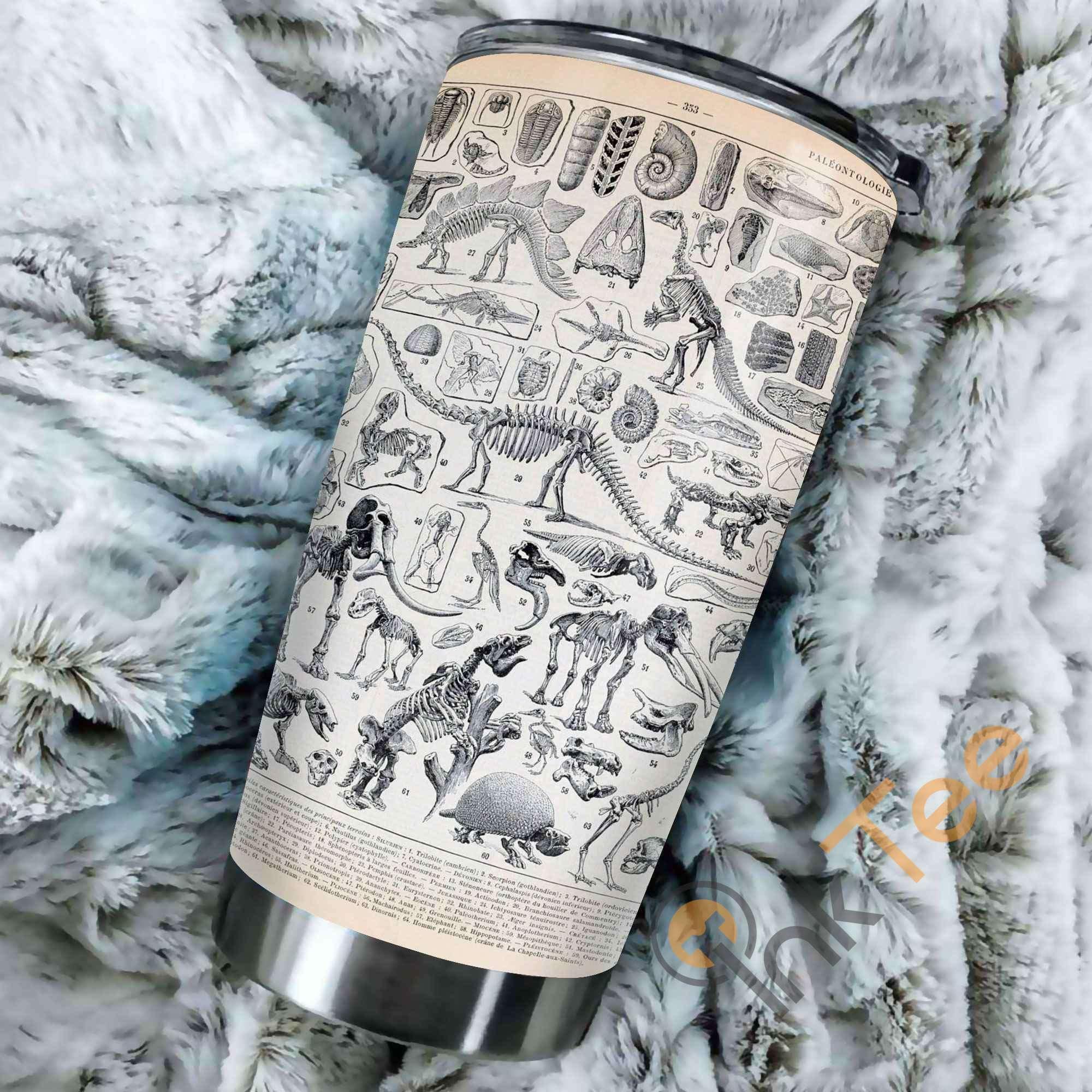 Fossil Wild Animal Amazon Best Seller Sku 3390 Stainless Steel Tumbler
