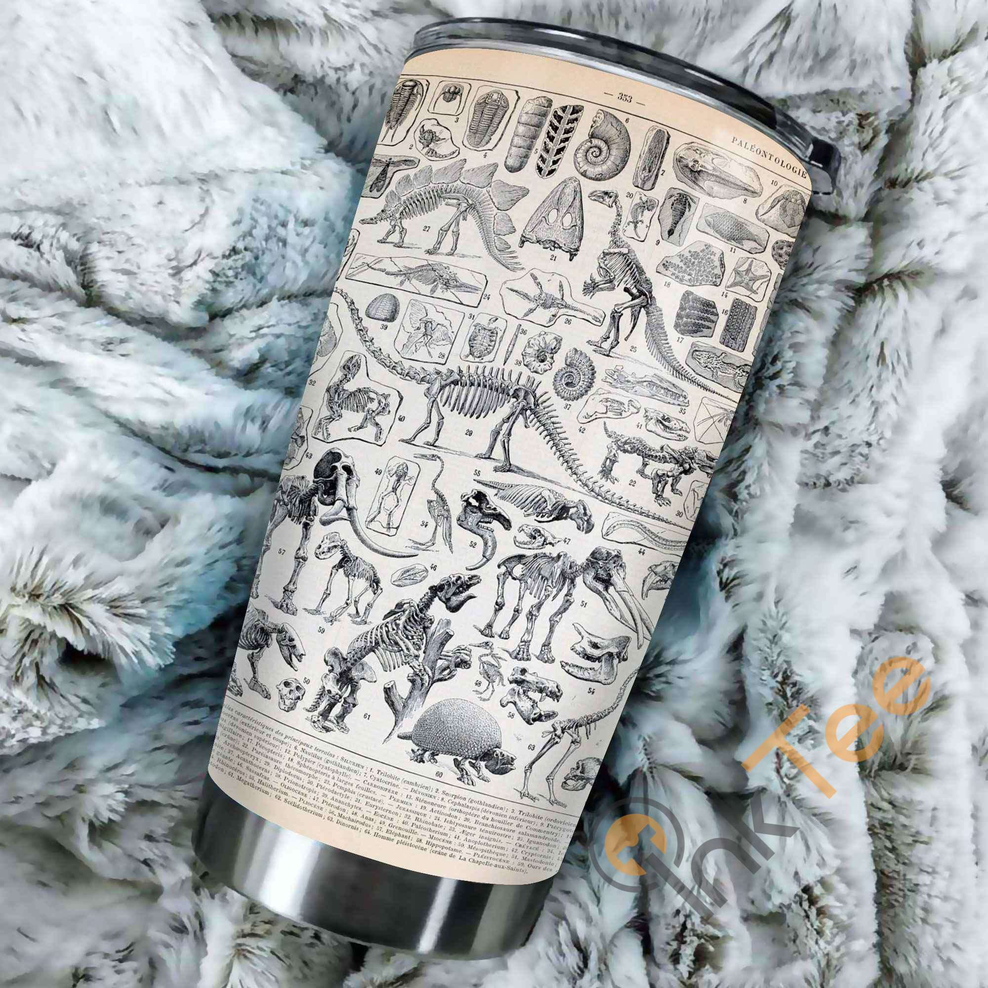 Fossil Wild Animal Stainless Steel Tumbler