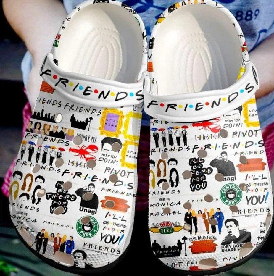 Friends Crocs Clog Shoes
