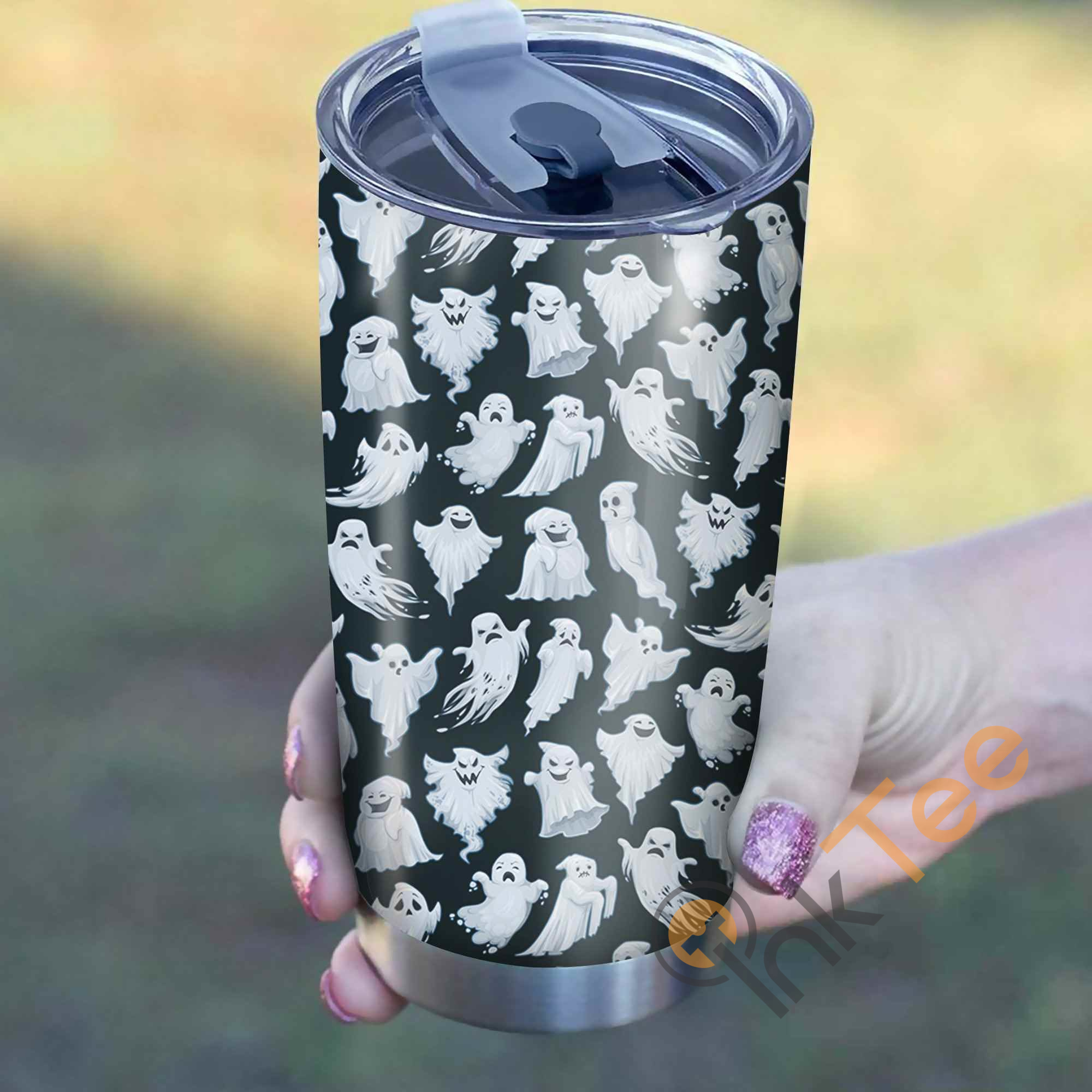 Funny Ghost Pattern Perfect Gift Stainless Steel Tumbler