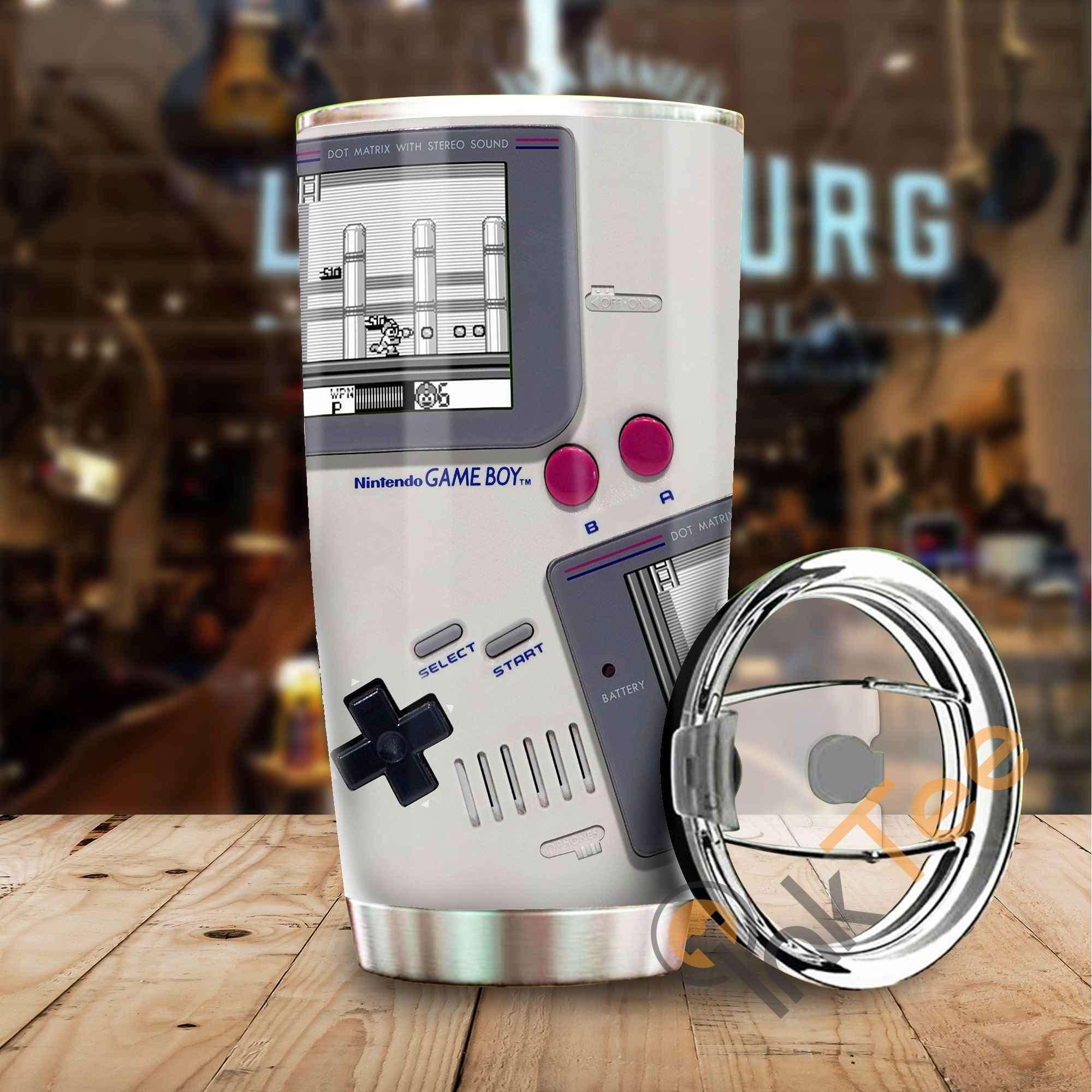 Game Boy Stainless Steel Tumbler