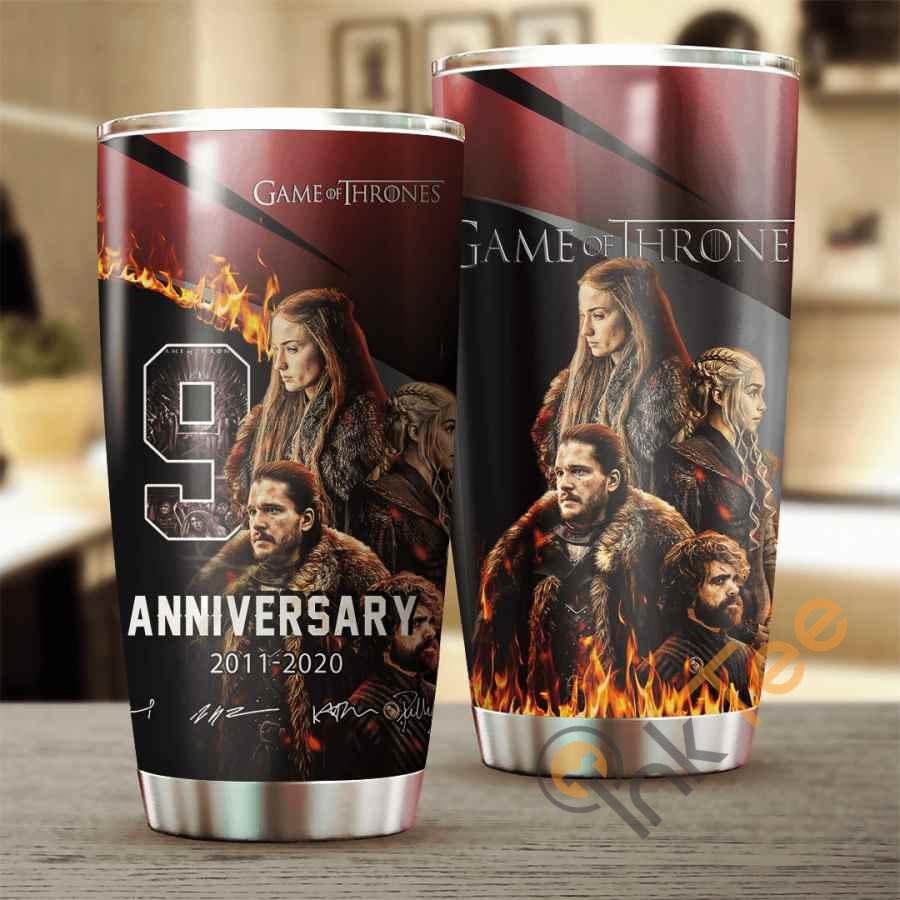 Game Of Thrones 9 Years Anniversary Cup Amazon Best Seller Sku 4055 Stainless Steel Tumbler