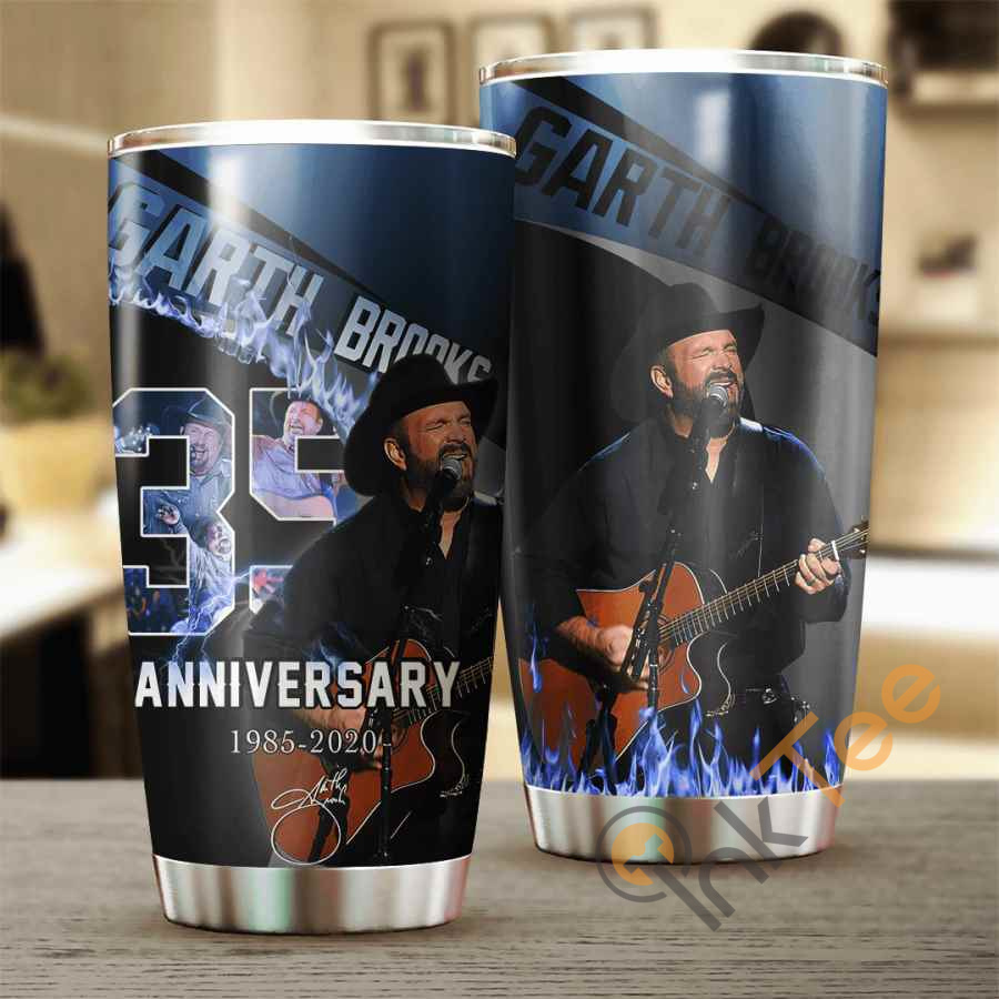 Garth Brooks 35 Years Anniversary Cup Amazon Best Seller Sku 3881 Stainless Steel Tumbler