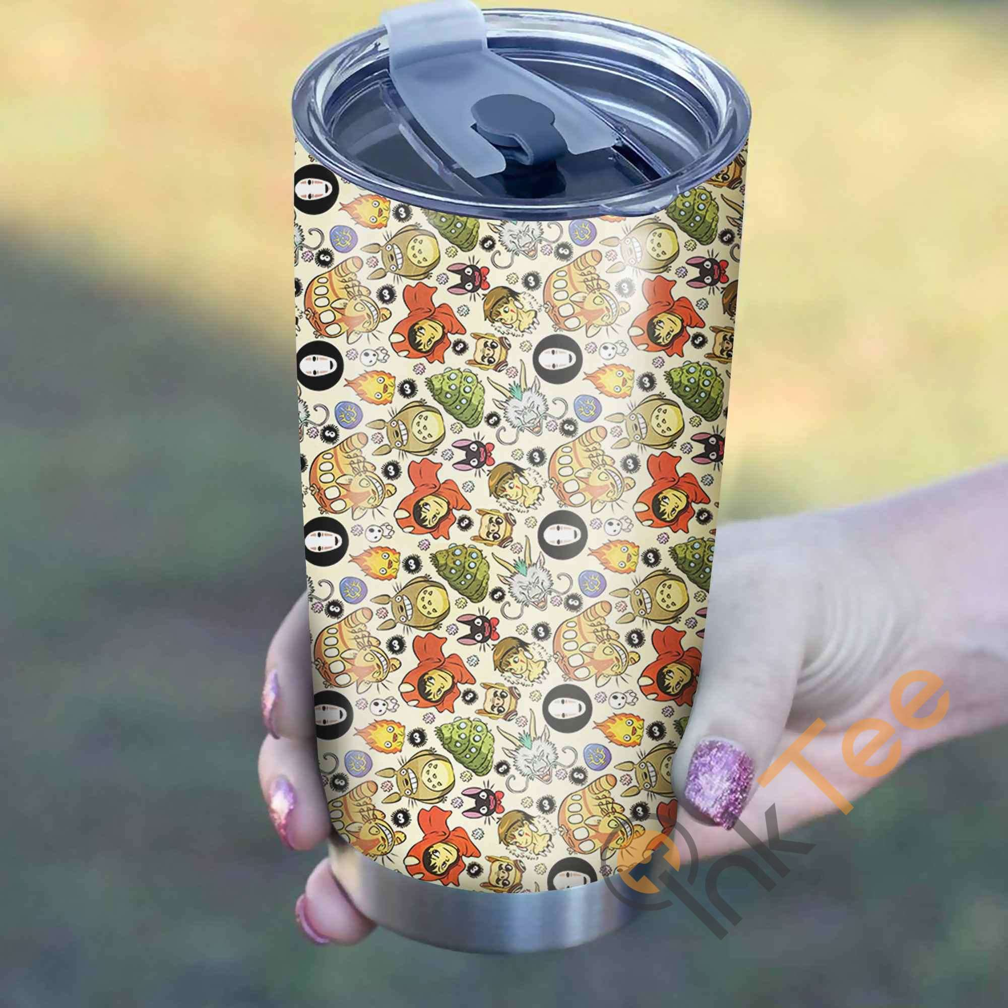 Ghibli Characters Perfect Gift Stainless Steel Tumbler