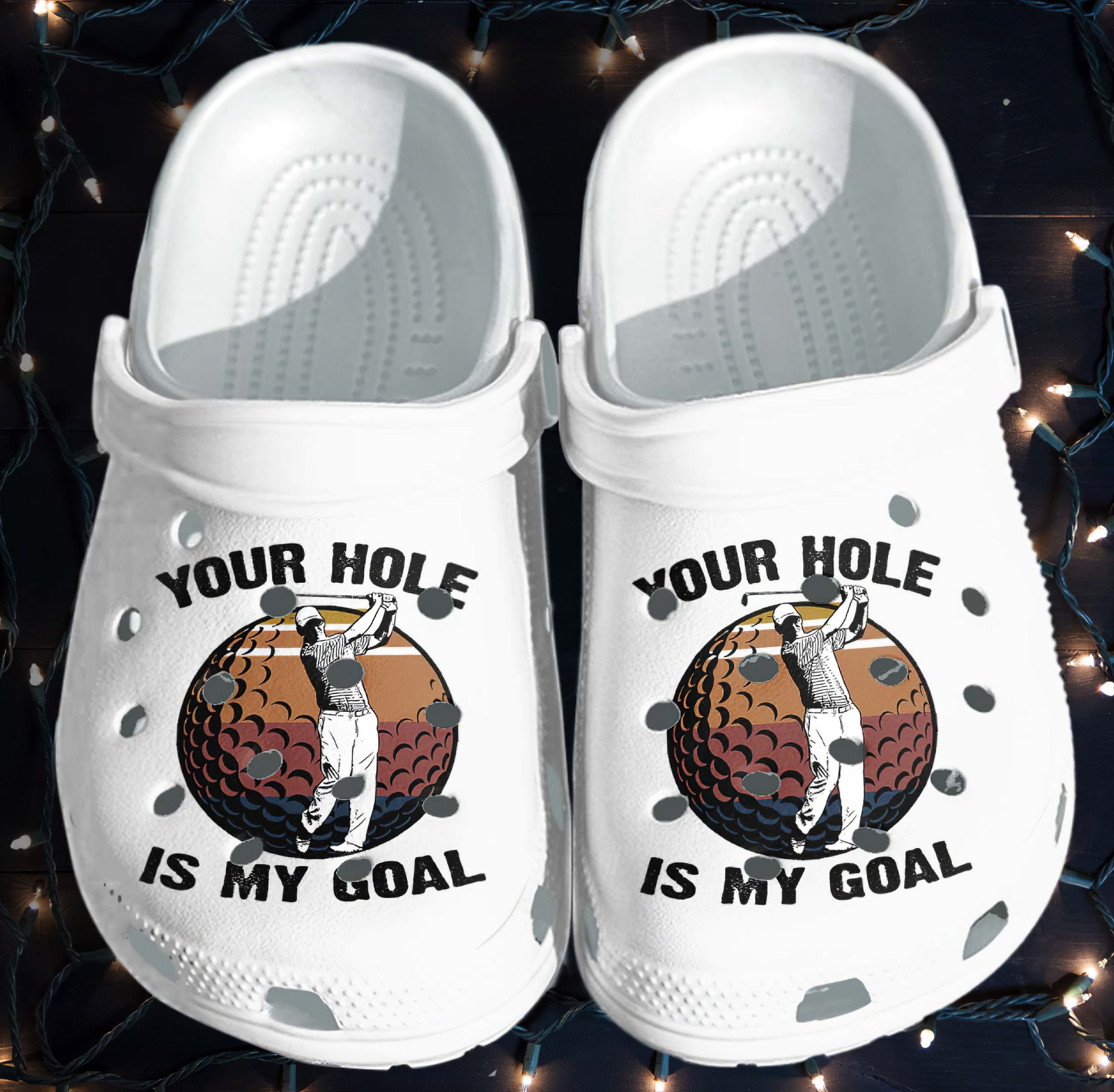 Golf Fathers Day 2021 Gifts For Dad Crocs Clog Shoes