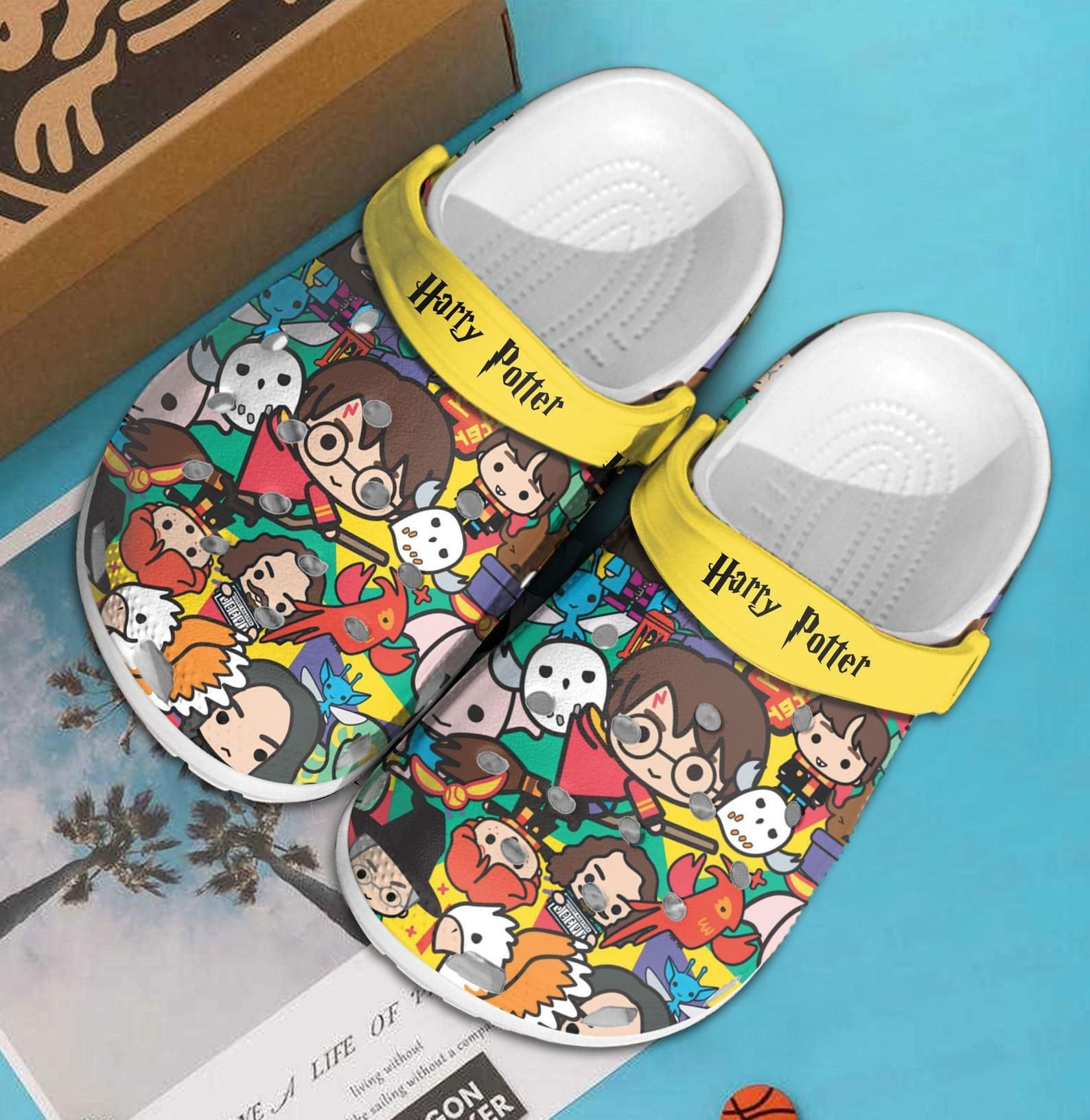 Harry Potter Crocs Clog Shoes
