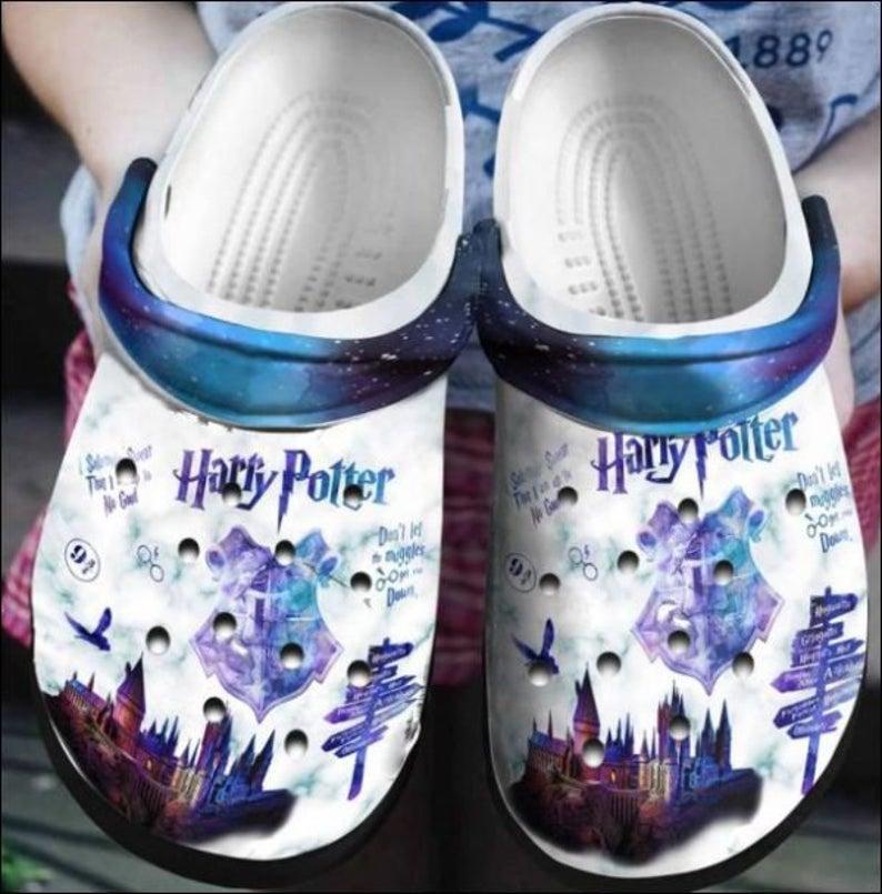Harry Potter Galaxy Crocs Clog Shoes