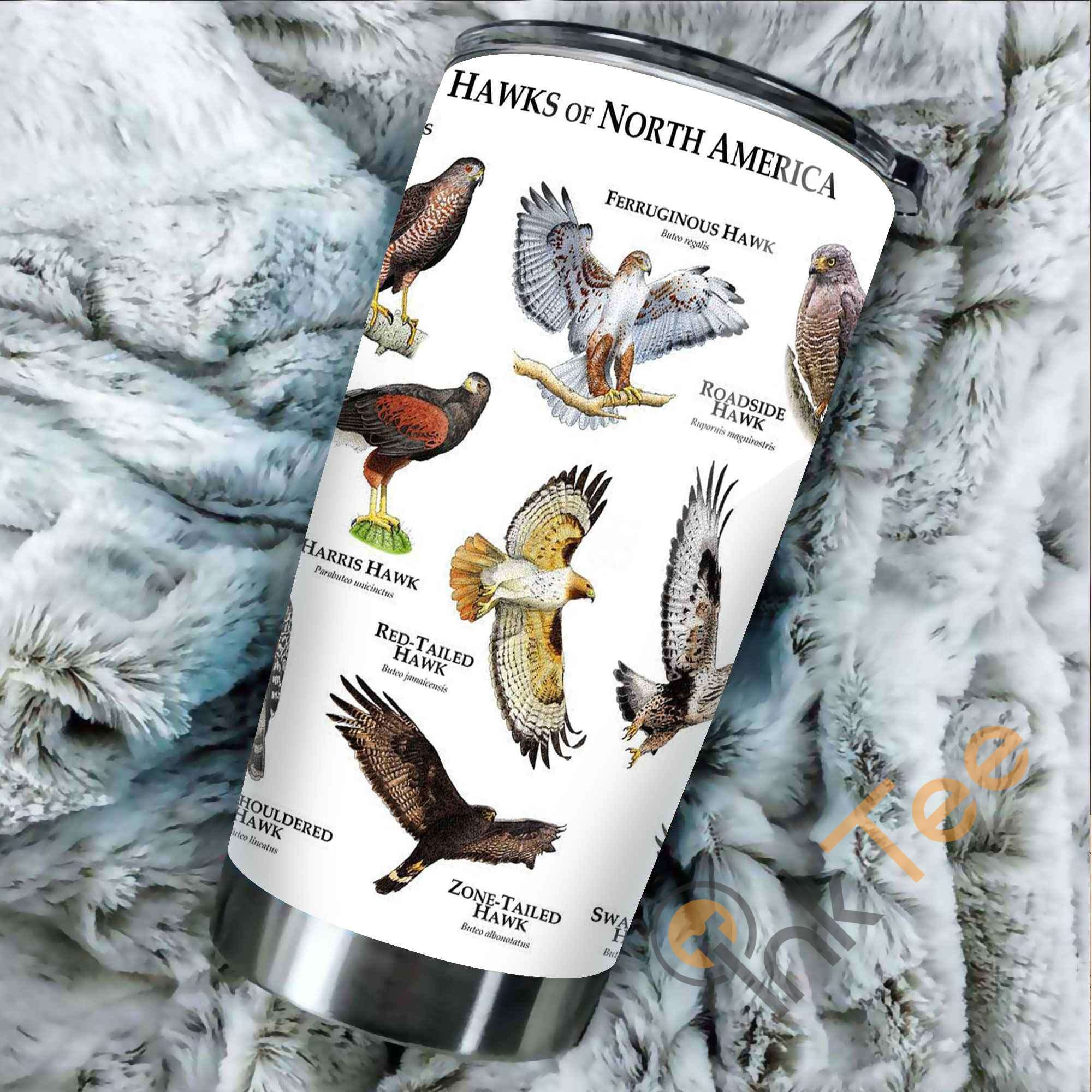 Hawks Of The World Stainless Steel Tumbler